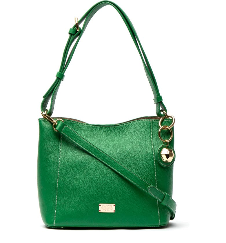 Frances Valentine Totes SMALL JUNE LEATHER TOTE - GREEN