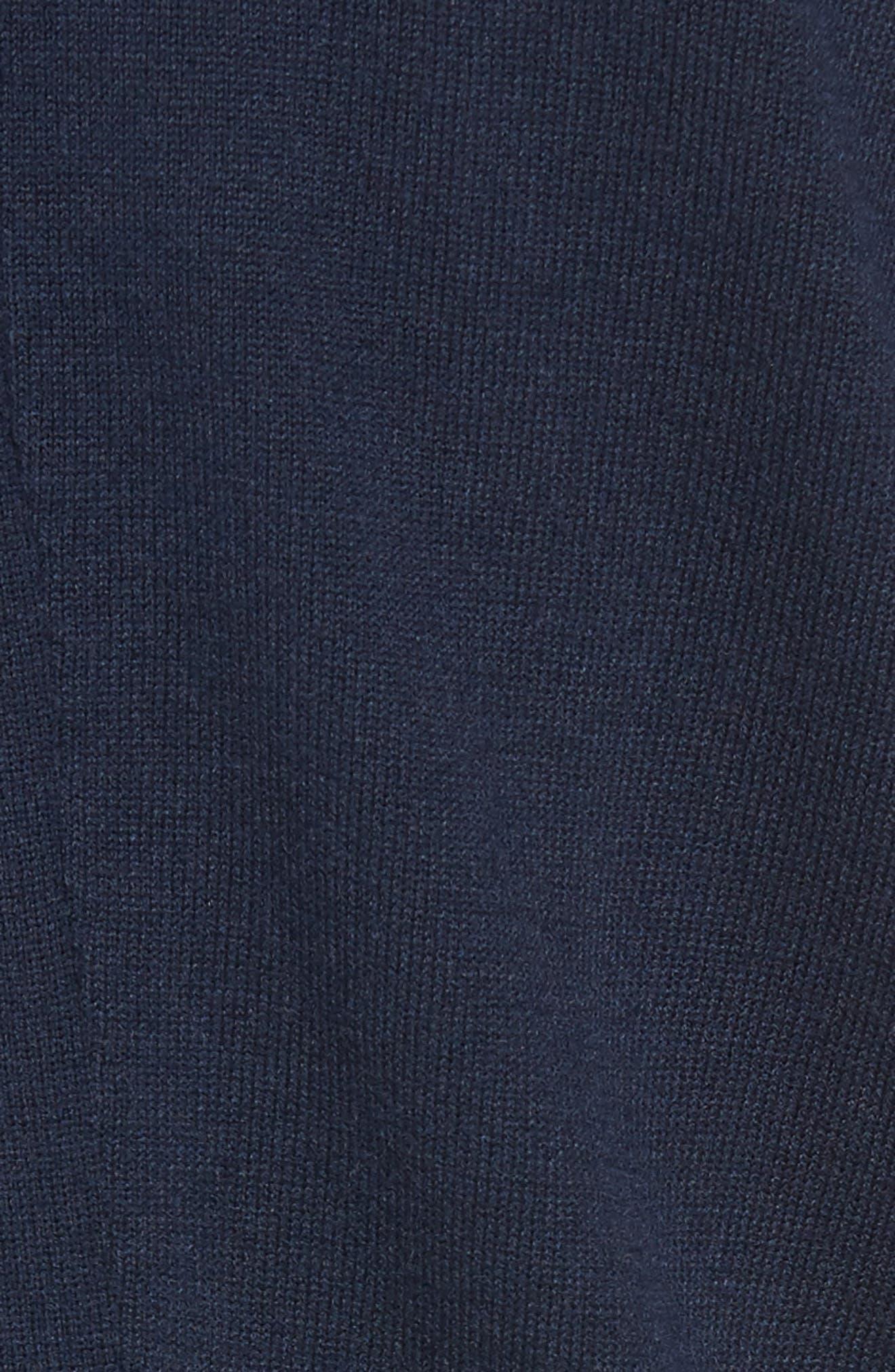 CHELSEA28, Pleated Hem Sweater, Alternate thumbnail 5, color, 410