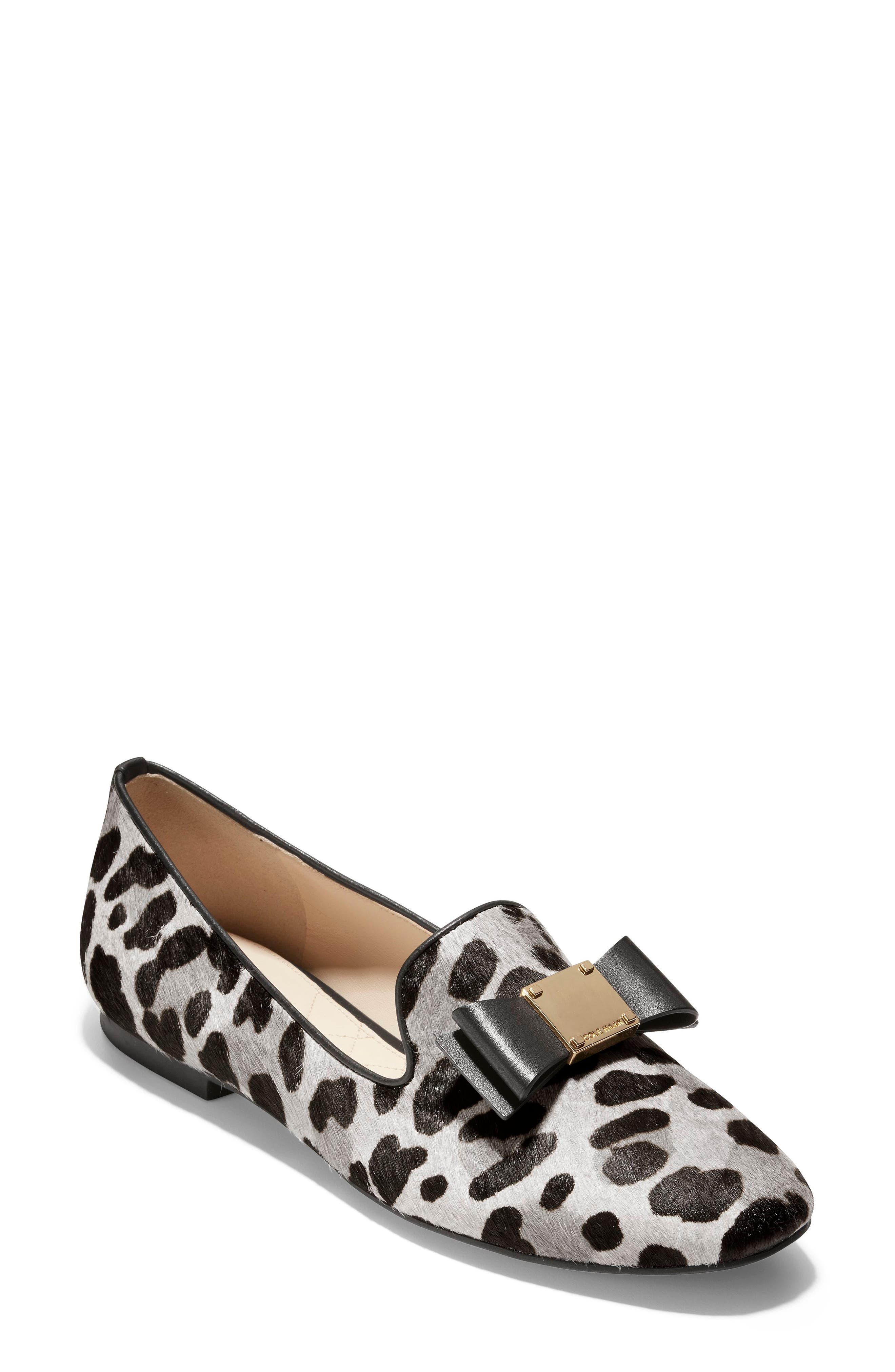Cole Haan Tali Bow Genuine Calf Hair Loafer