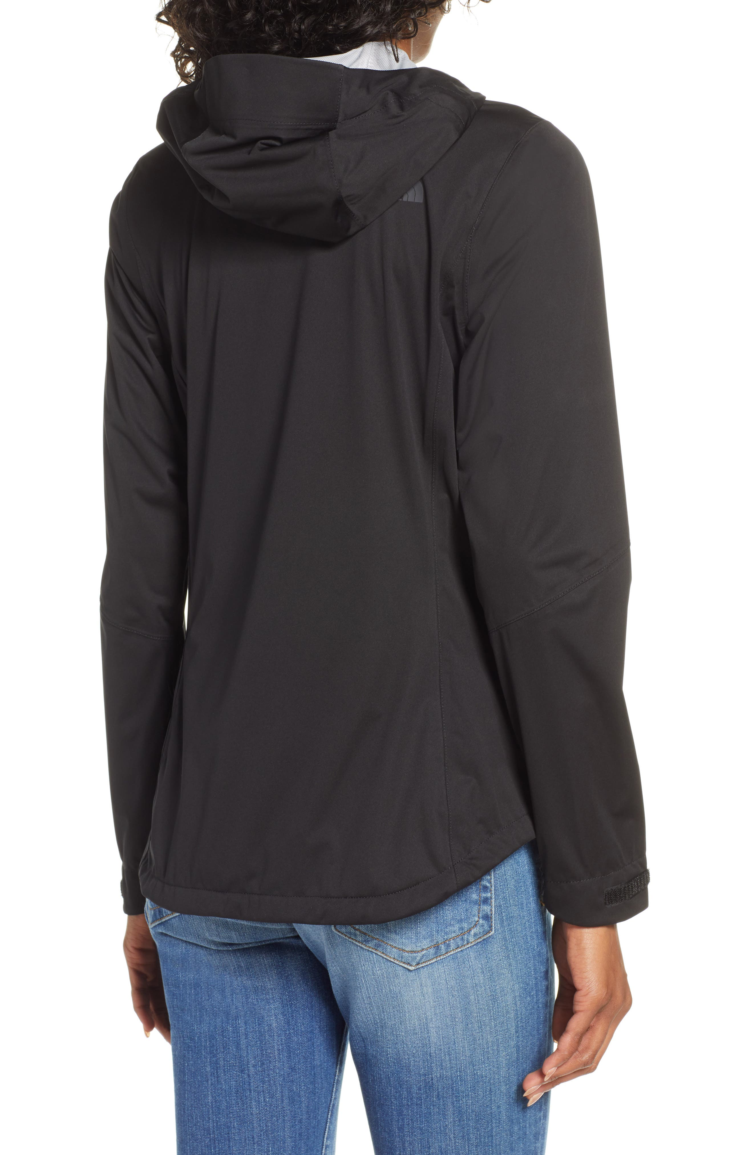 THE NORTH FACE, Allproof Stretch Jacket, Alternate thumbnail 2, color, TNF BLACK