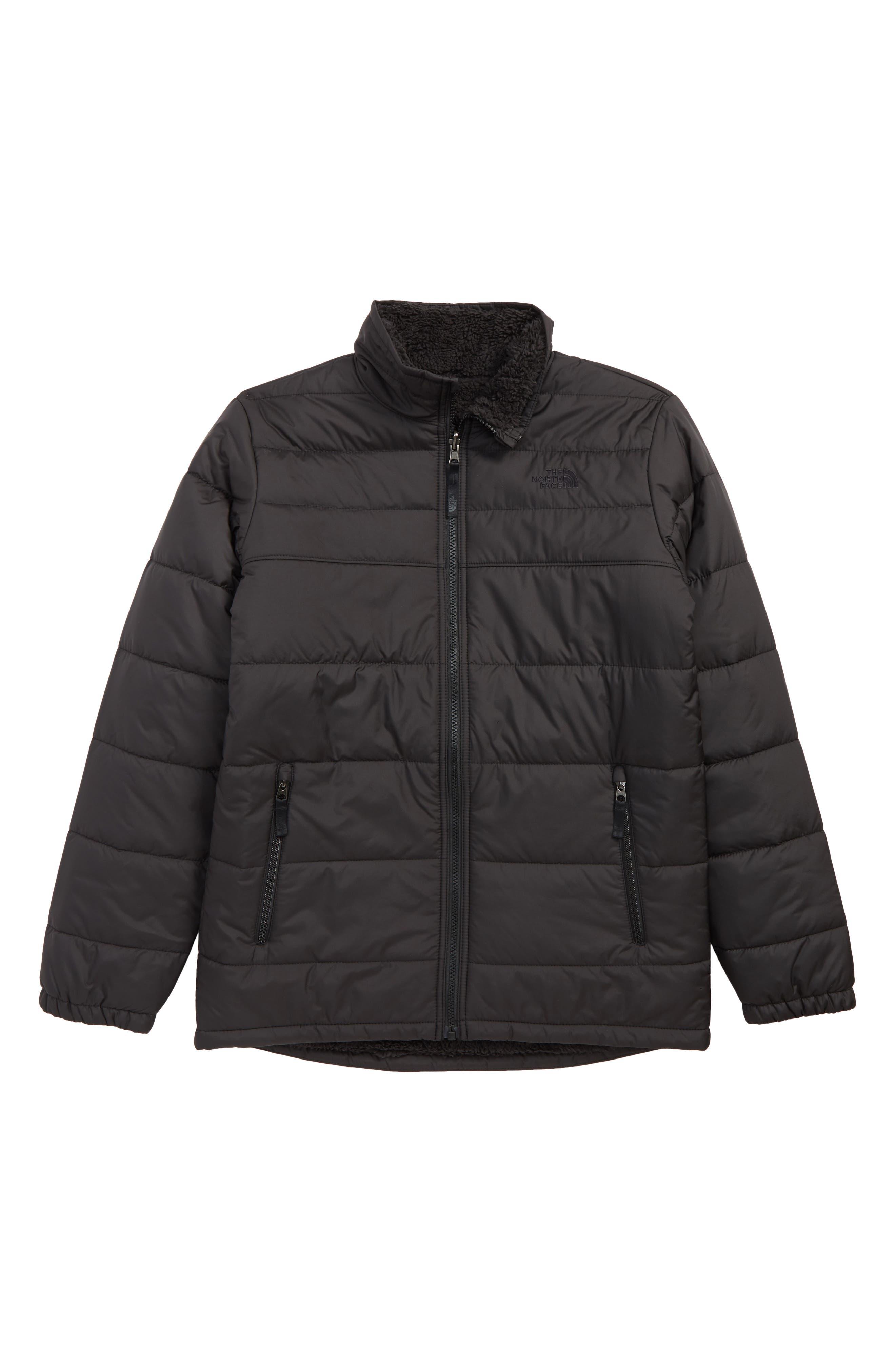 THE NORTH FACE, Mount Chimborazo Reversible Jacket, Main thumbnail 1, color, TNF BLACK/ TNF BLACK