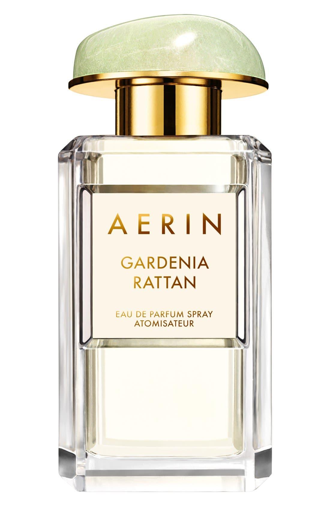ESTÉE LAUDER, AERIN Beauty Gardenia Rattan Eau de Parfum Spray, Main thumbnail 1, color, NO COLOR