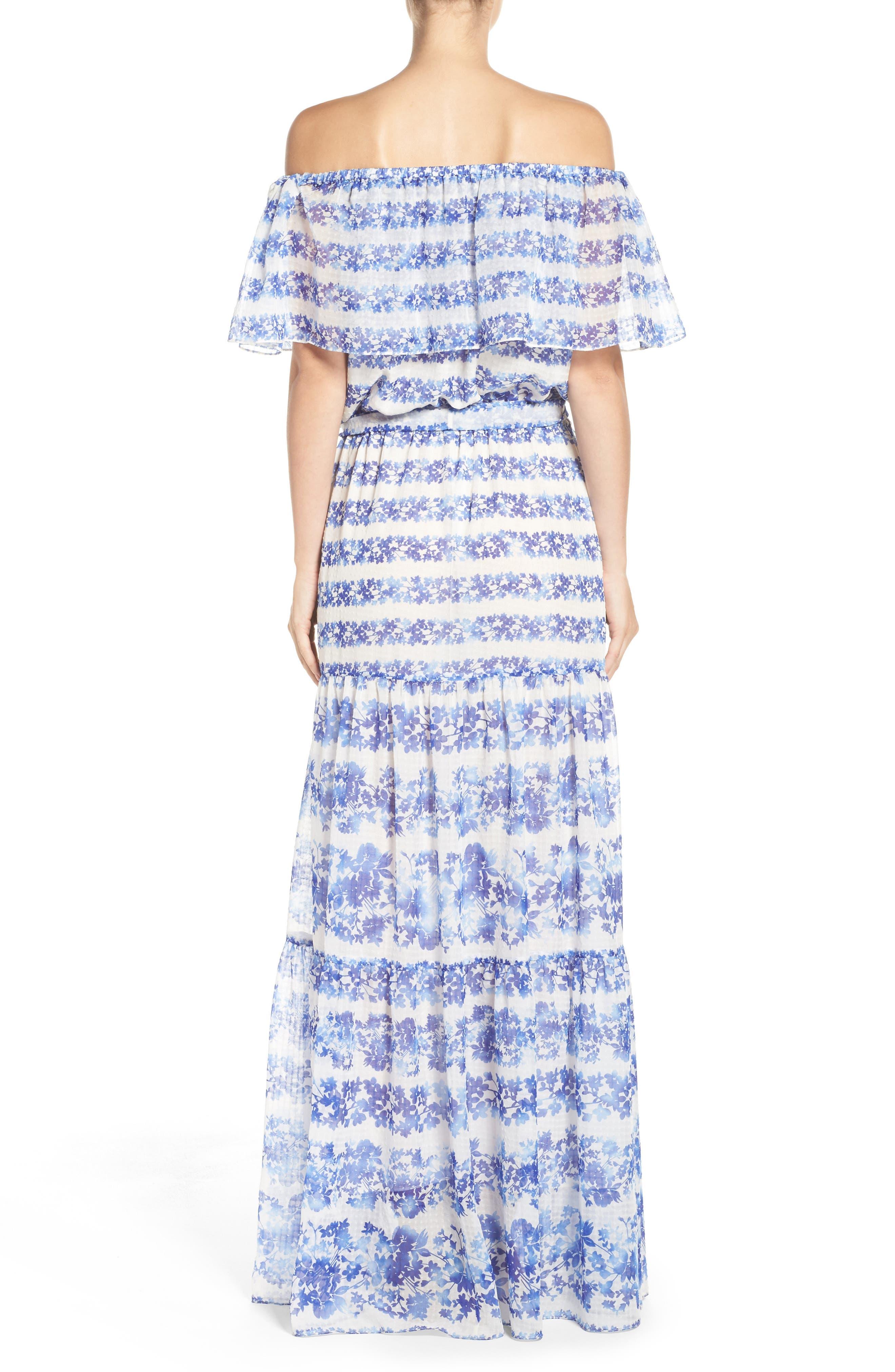 ELIZA J, Blouson Maxi Dress, Alternate thumbnail 2, color, 442