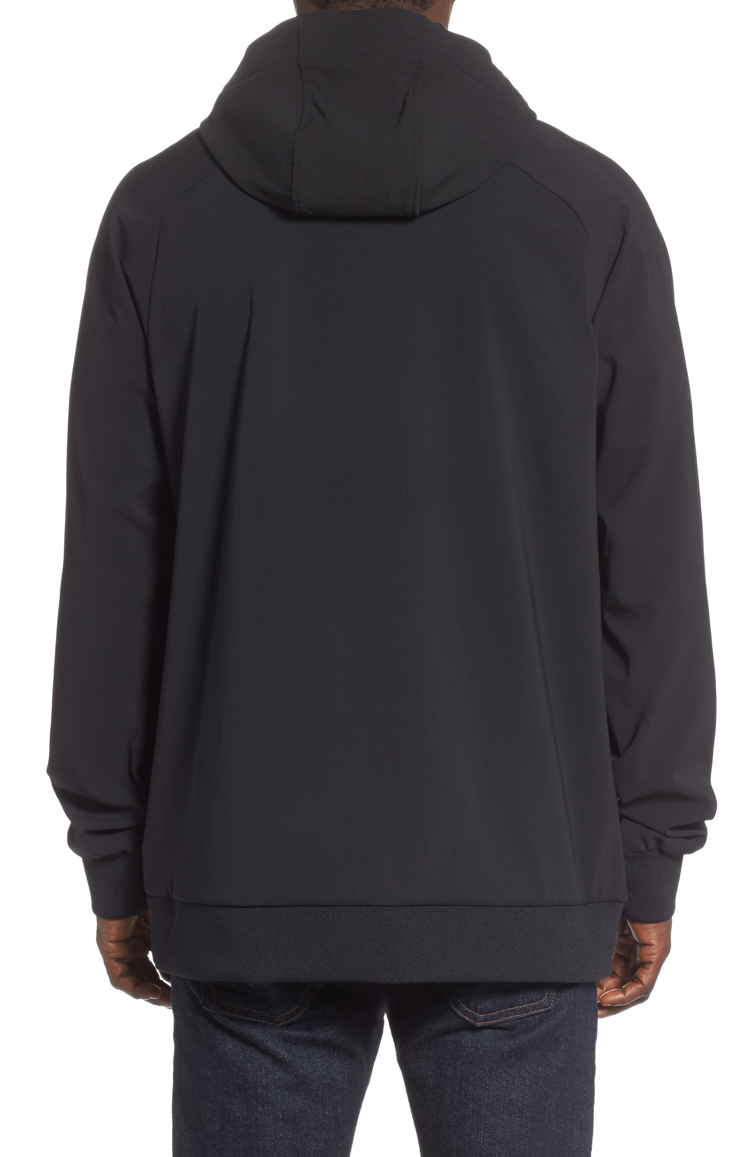 THE NORTH FACE, Tekno Pullover Hoodie, Alternate thumbnail 2, color, 001