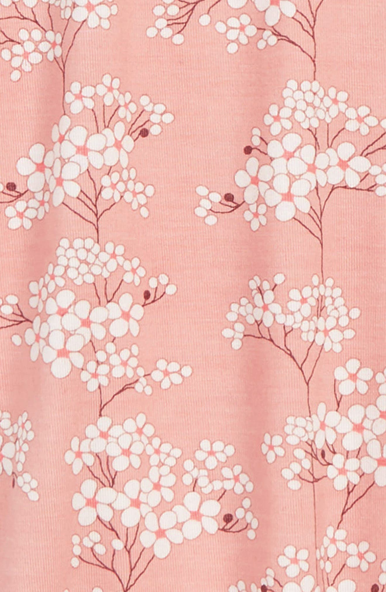 MAGNETIC ME, Cherry Blossom Footie, Alternate thumbnail 2, color, 650
