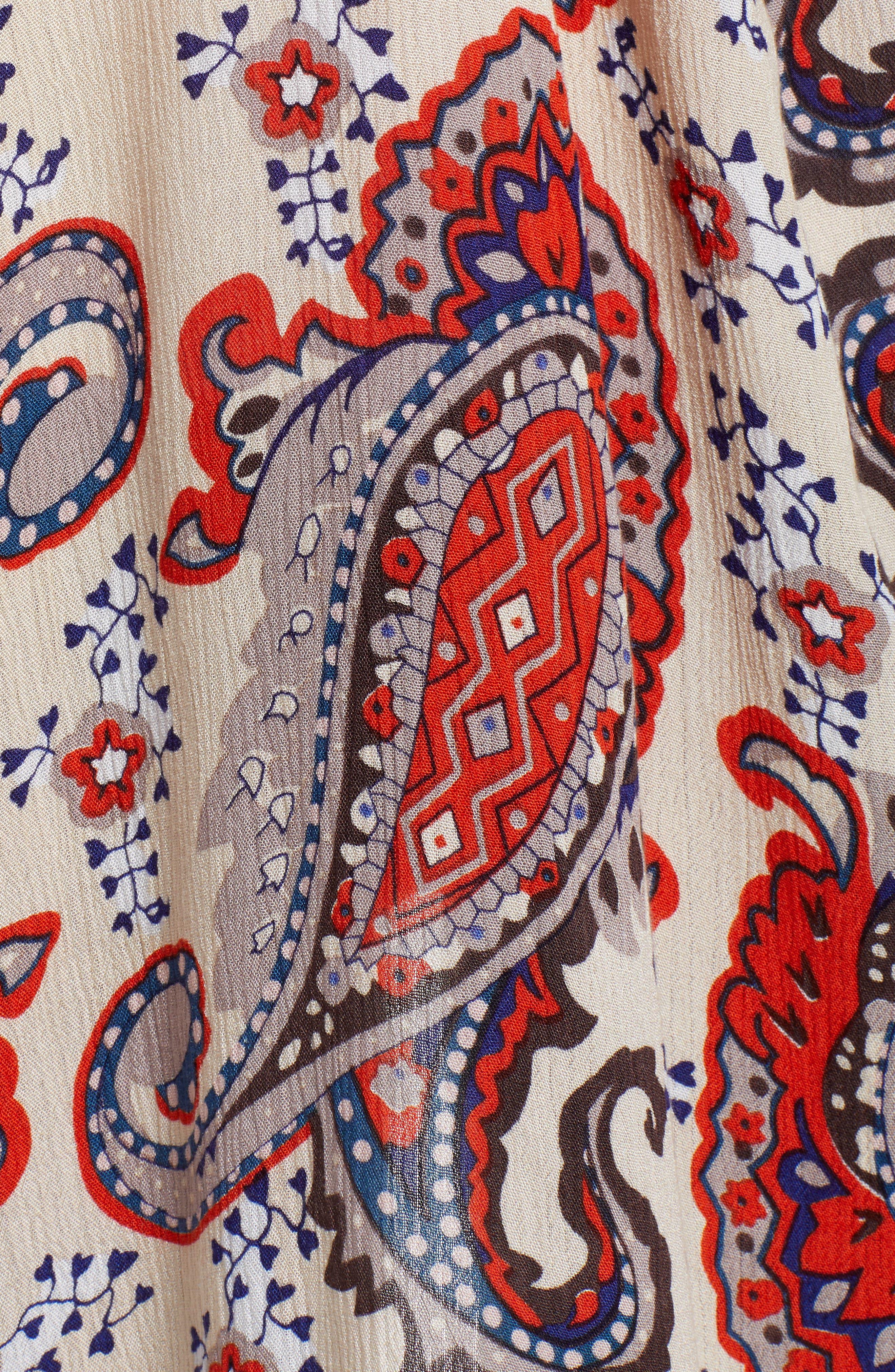 FREE PEOPLE, Little Wing Kimono, Alternate thumbnail 5, color, NEUTRAL