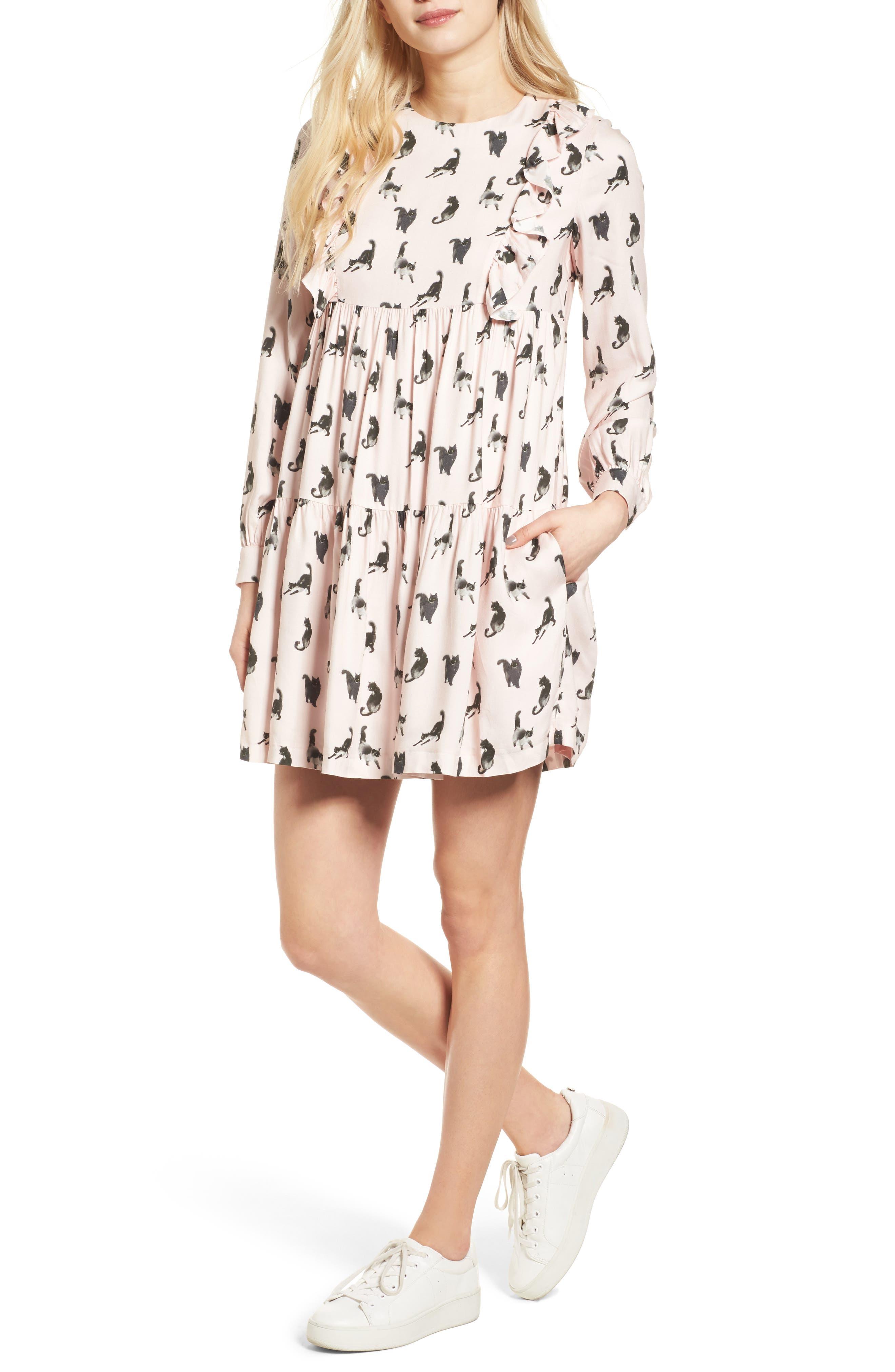 PAUL & JOE SISTER Babydoll Dress, Main, color, 650