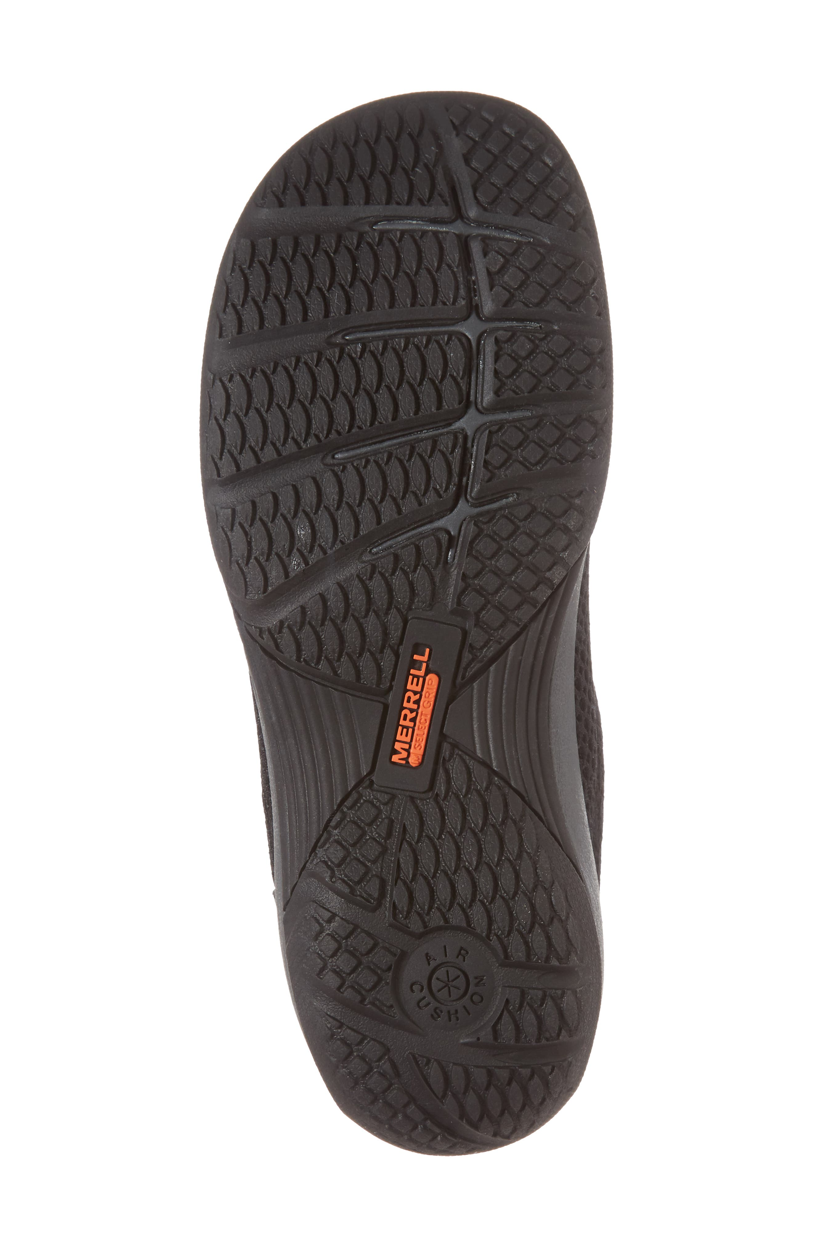 MERRELL, Encore Q2 Breeze Clog, Alternate thumbnail 6, color, BLACK