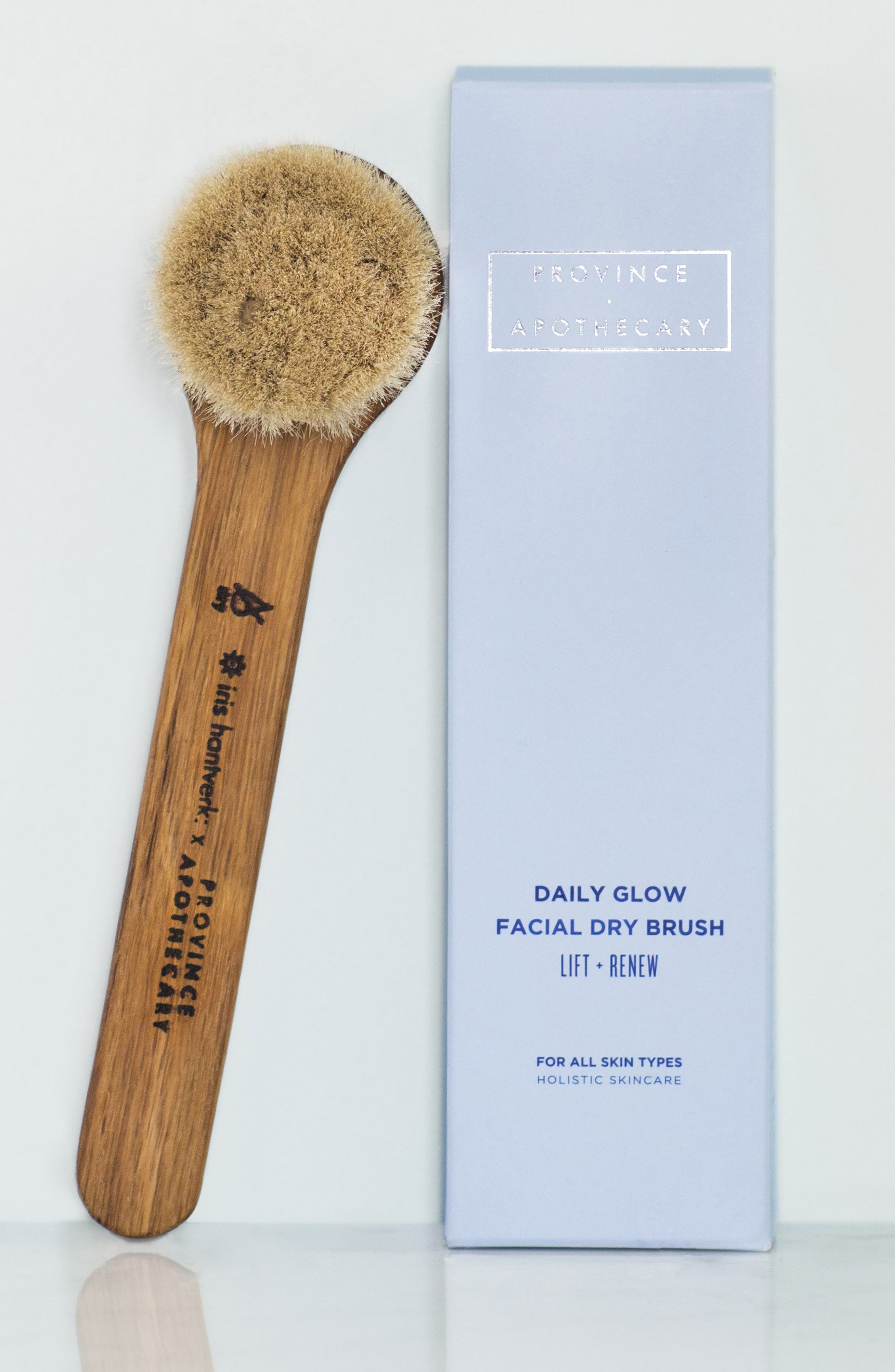 PROVINCE APOTHECARY, Daily Glow Facial Dry Brush, Alternate thumbnail 3, color, 200
