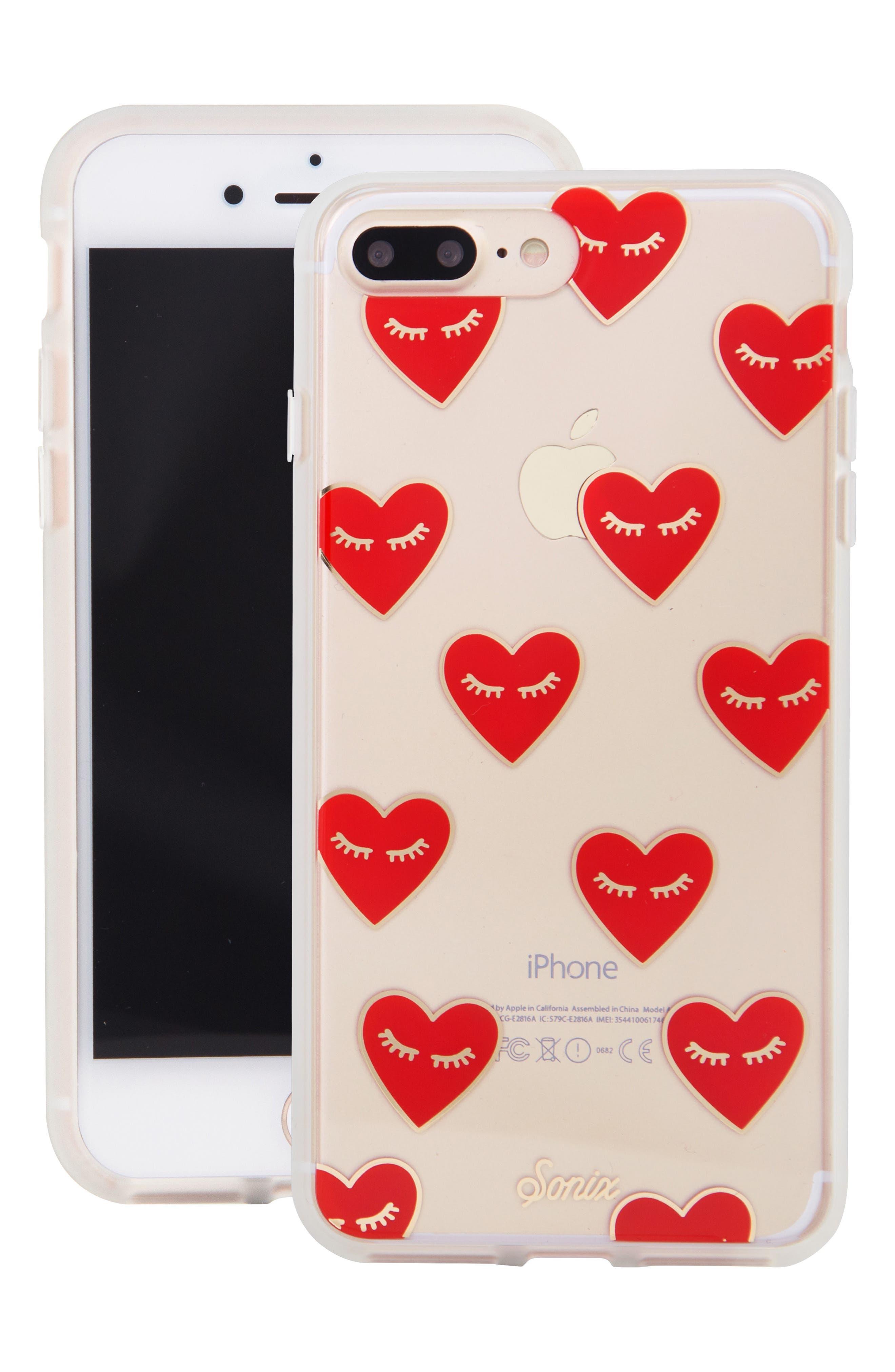 SONIX, Fancy Heart iPhone 7/8 & 7/8 Plus Case, Alternate thumbnail 7, color, 600