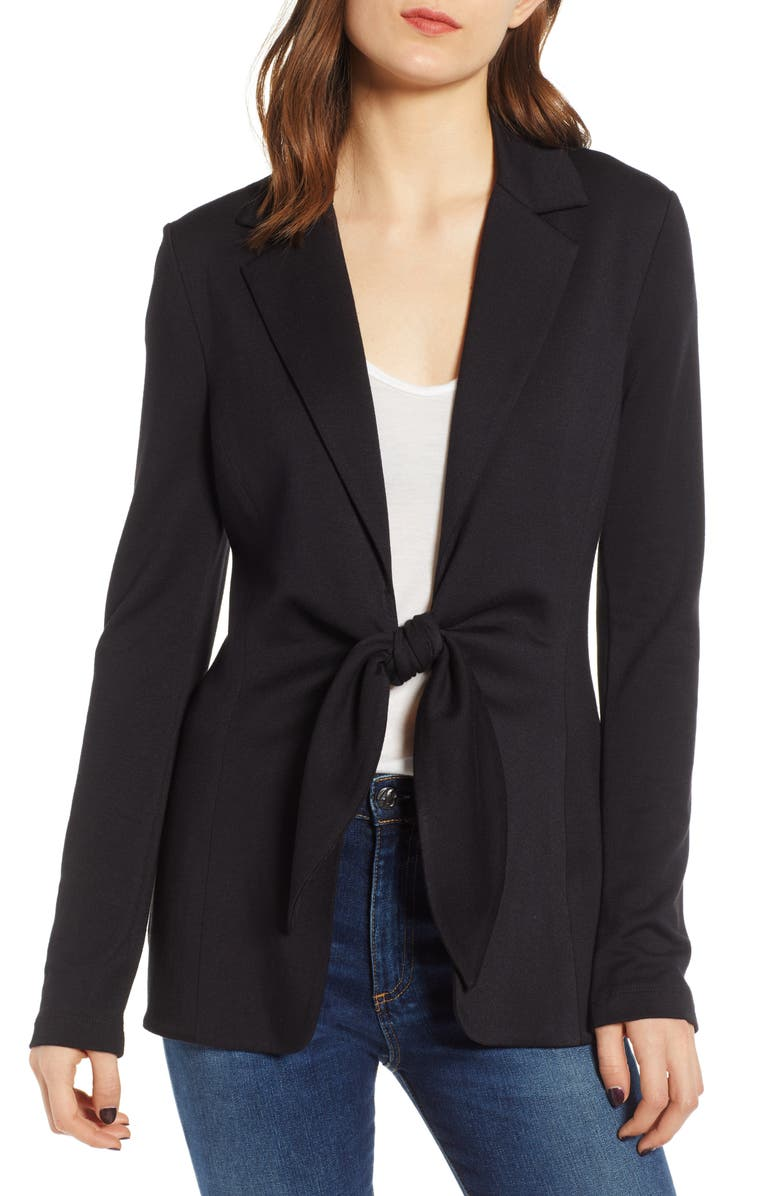 Bailey44 Blazers MARY JANE TIE FRONT BLAZER