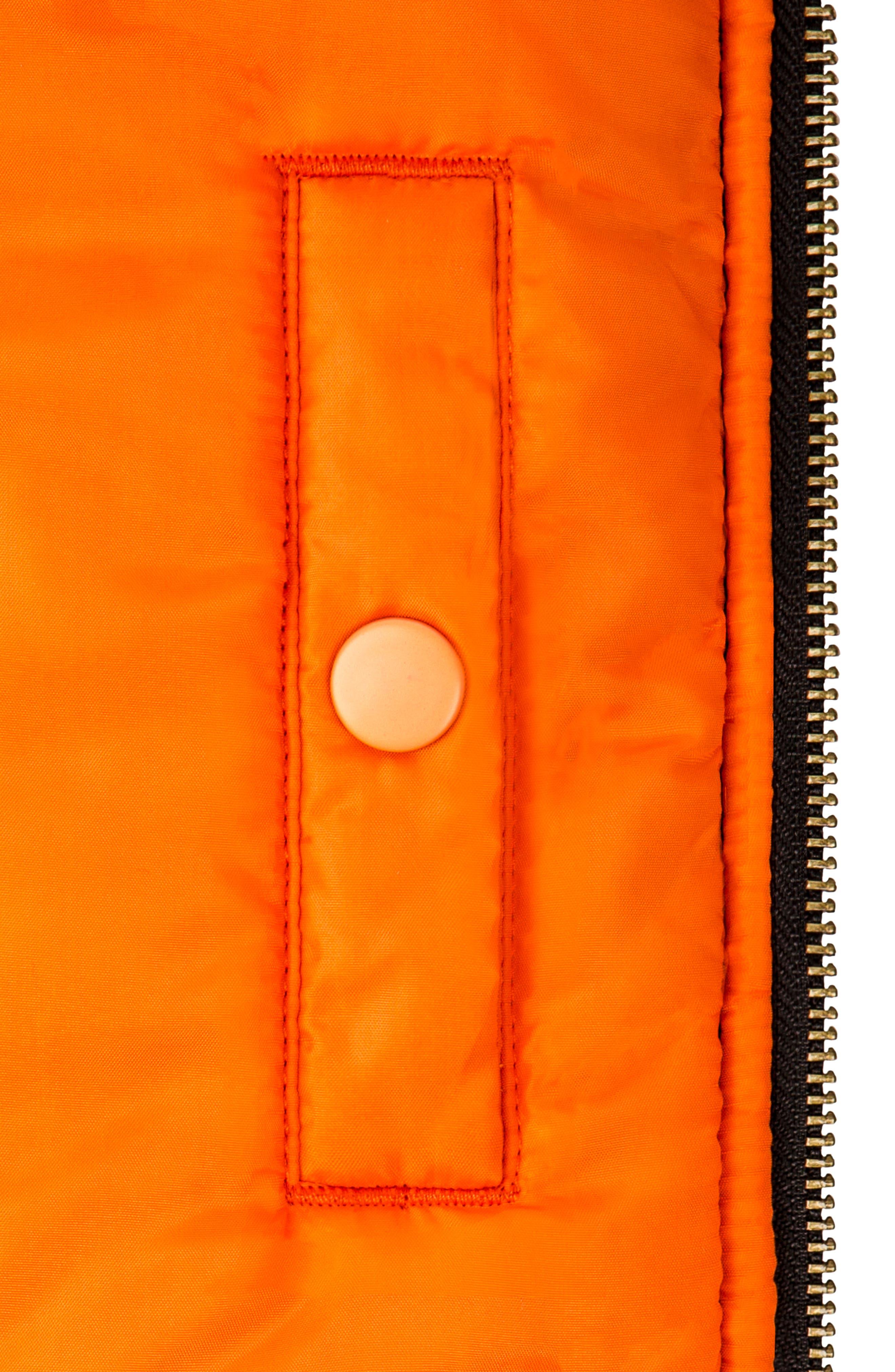 ALPHA INDUSTRIES, MA-1 Flight Jacket, Alternate thumbnail 3, color, TIGER CAMO