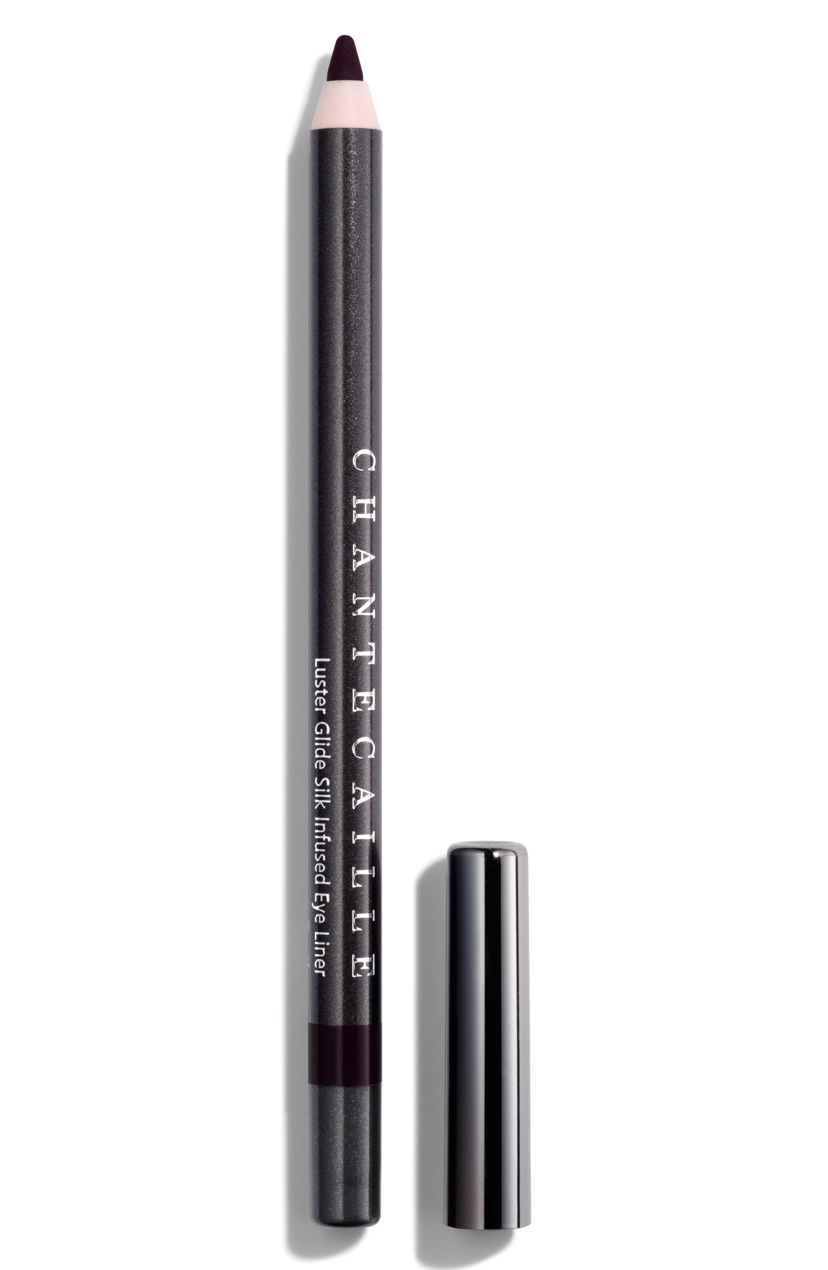 CHANTECAILLE, Luster Glide Silk Infused Eyeliner, Main thumbnail 1, color, RAVEN