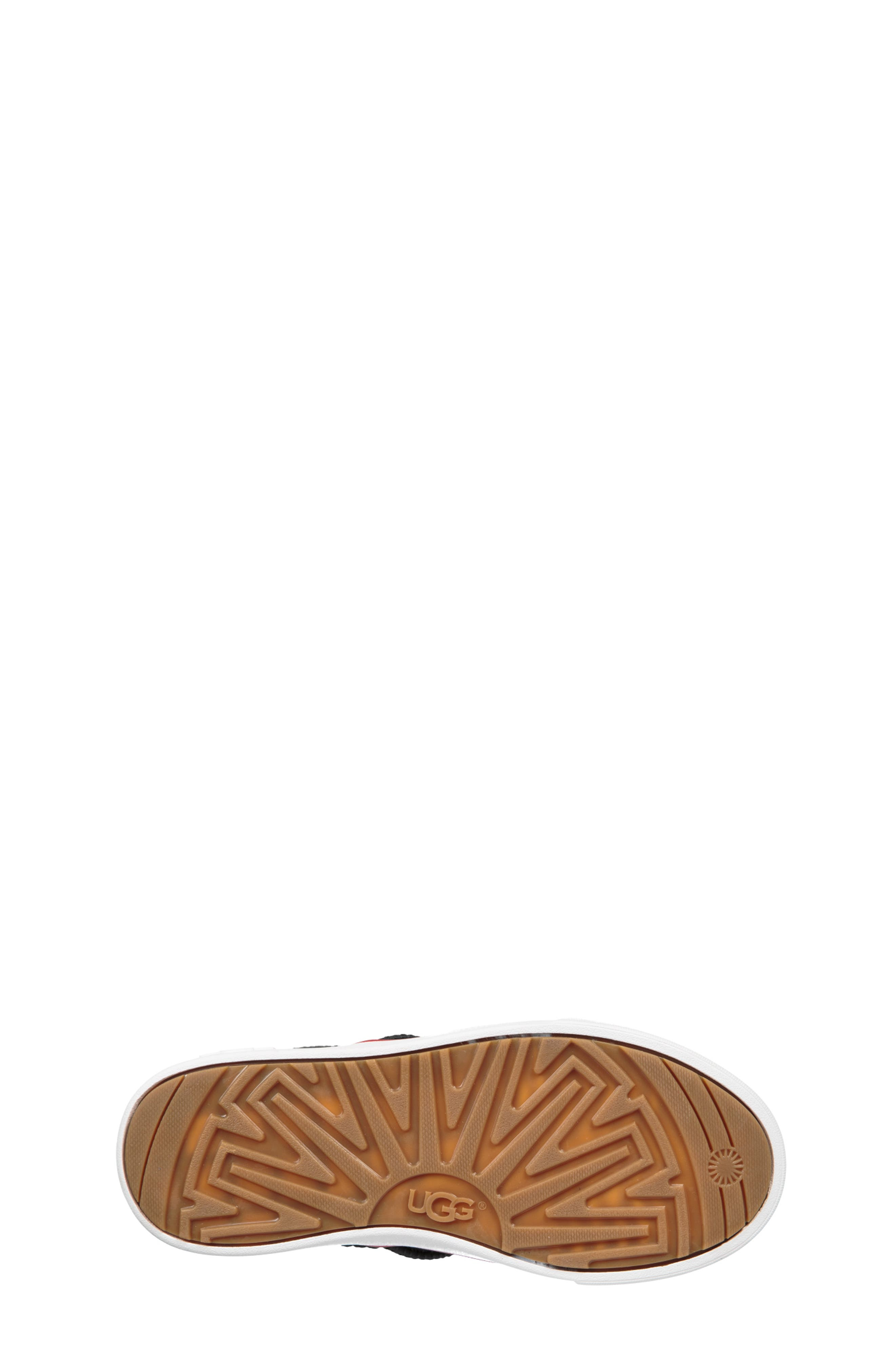 UGG<SUP>®</SUP>, Boscoe Sneaker, Alternate thumbnail 5, color, 001
