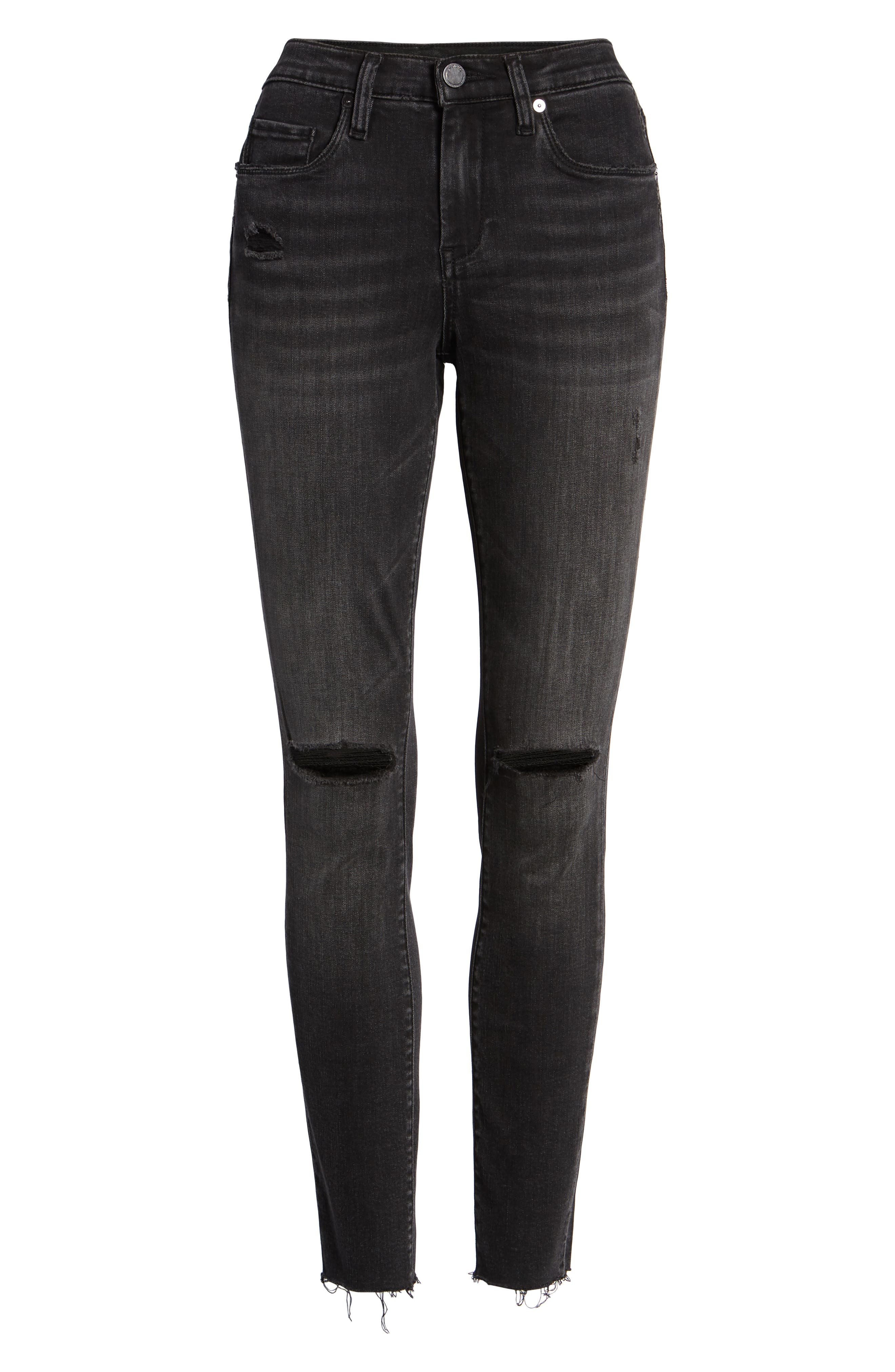 BLANKNYC, The Bond Skinny Jeans, Alternate thumbnail 7, color, 001