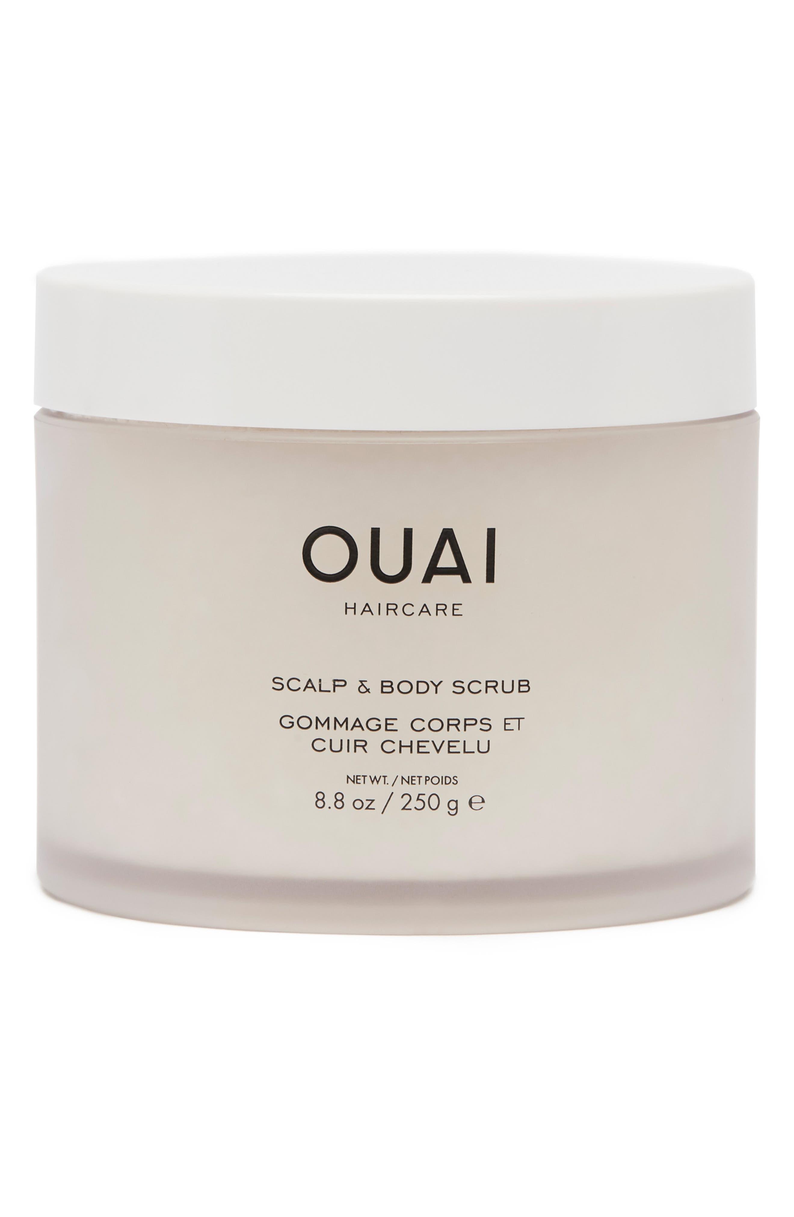 OUAI, Scalp & Body Scrub, Main thumbnail 1, color, NO COLOR
