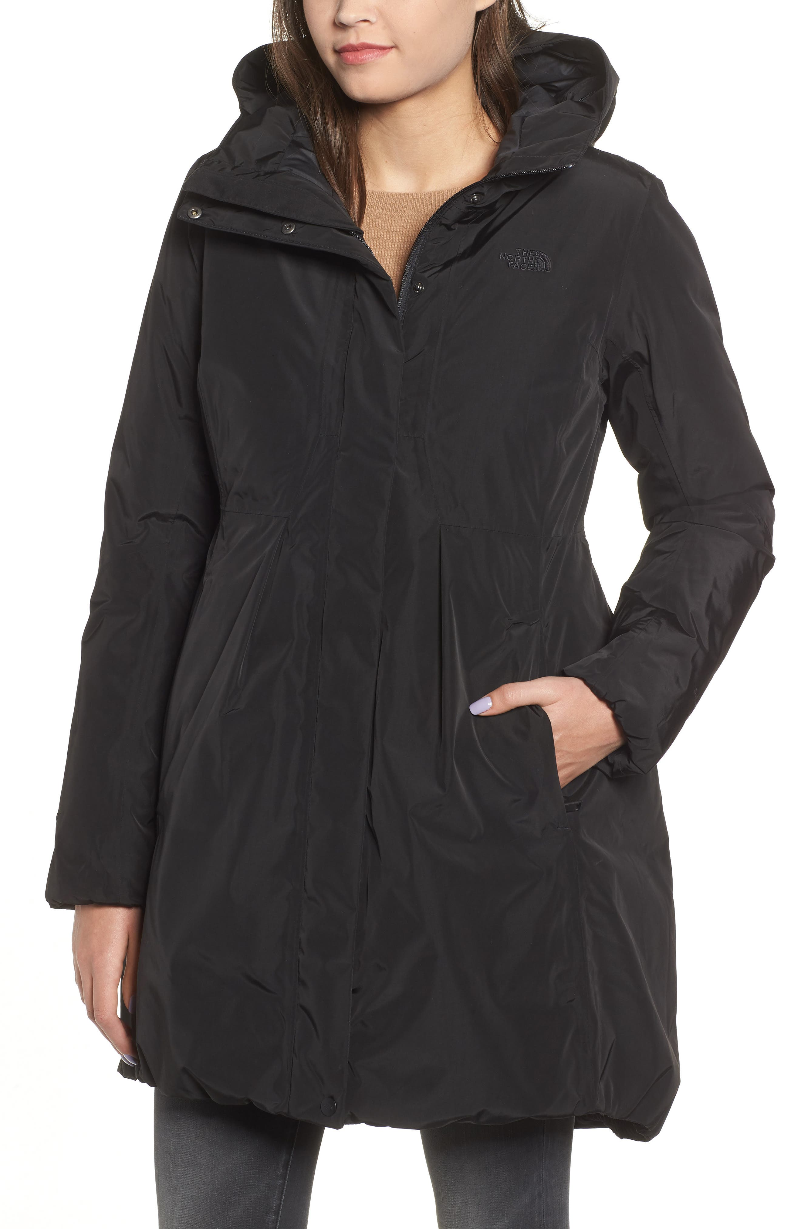 THE NORTH FACE, Transarctic Mama Down Parka, Alternate thumbnail 5, color, 001