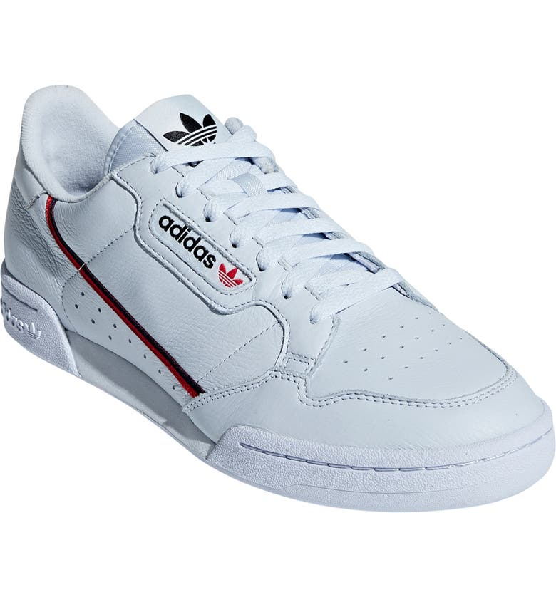 sneakers for cheap 124fd a7e9b ADIDAS Continental 80 Sneaker, Main, color, AERO BLUE  SCARLET  NAVY
