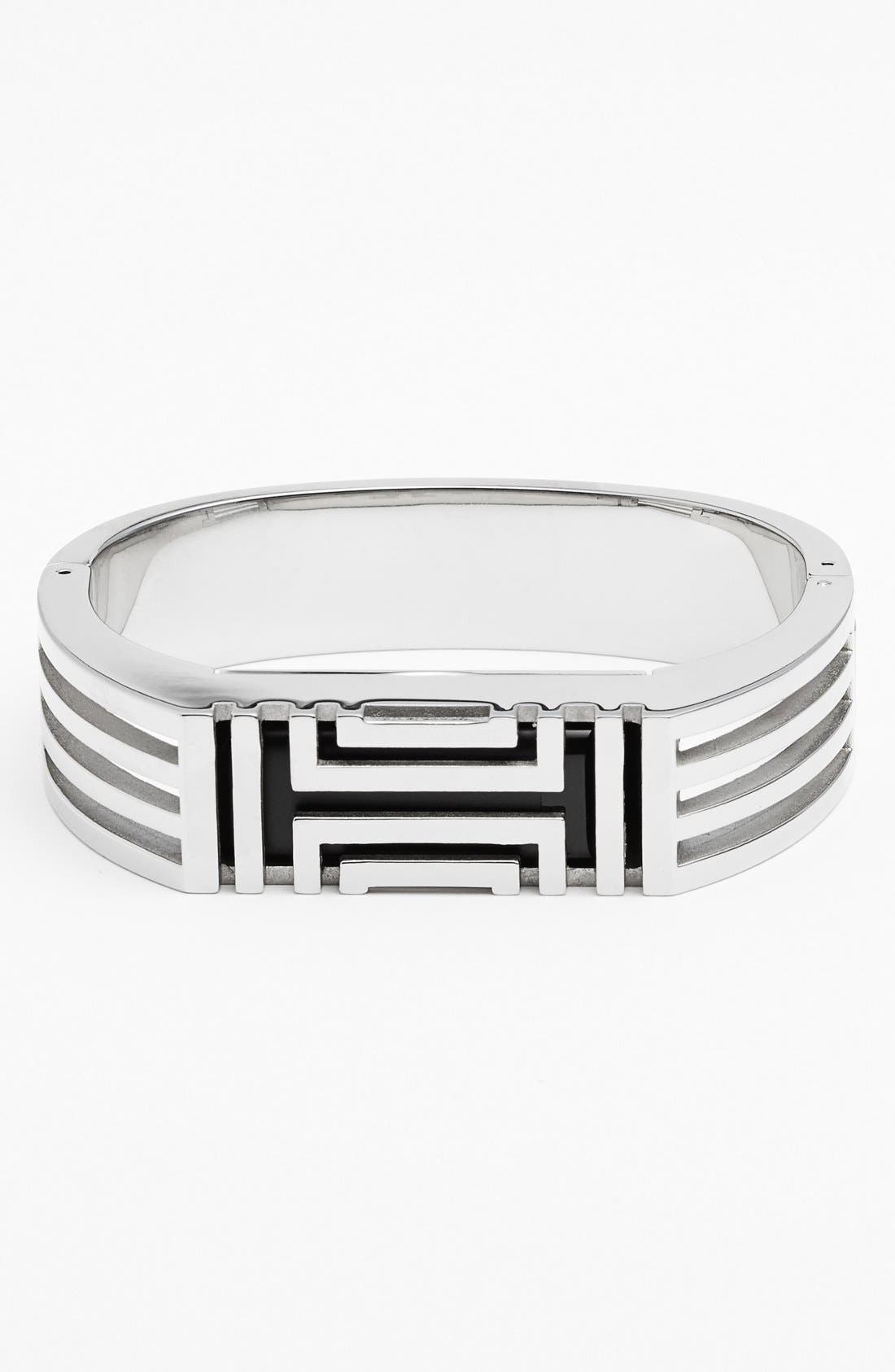 TORY BURCH, for Fitbit<sup>®</sup> Hinged Bracelet, Main thumbnail 1, color, 040