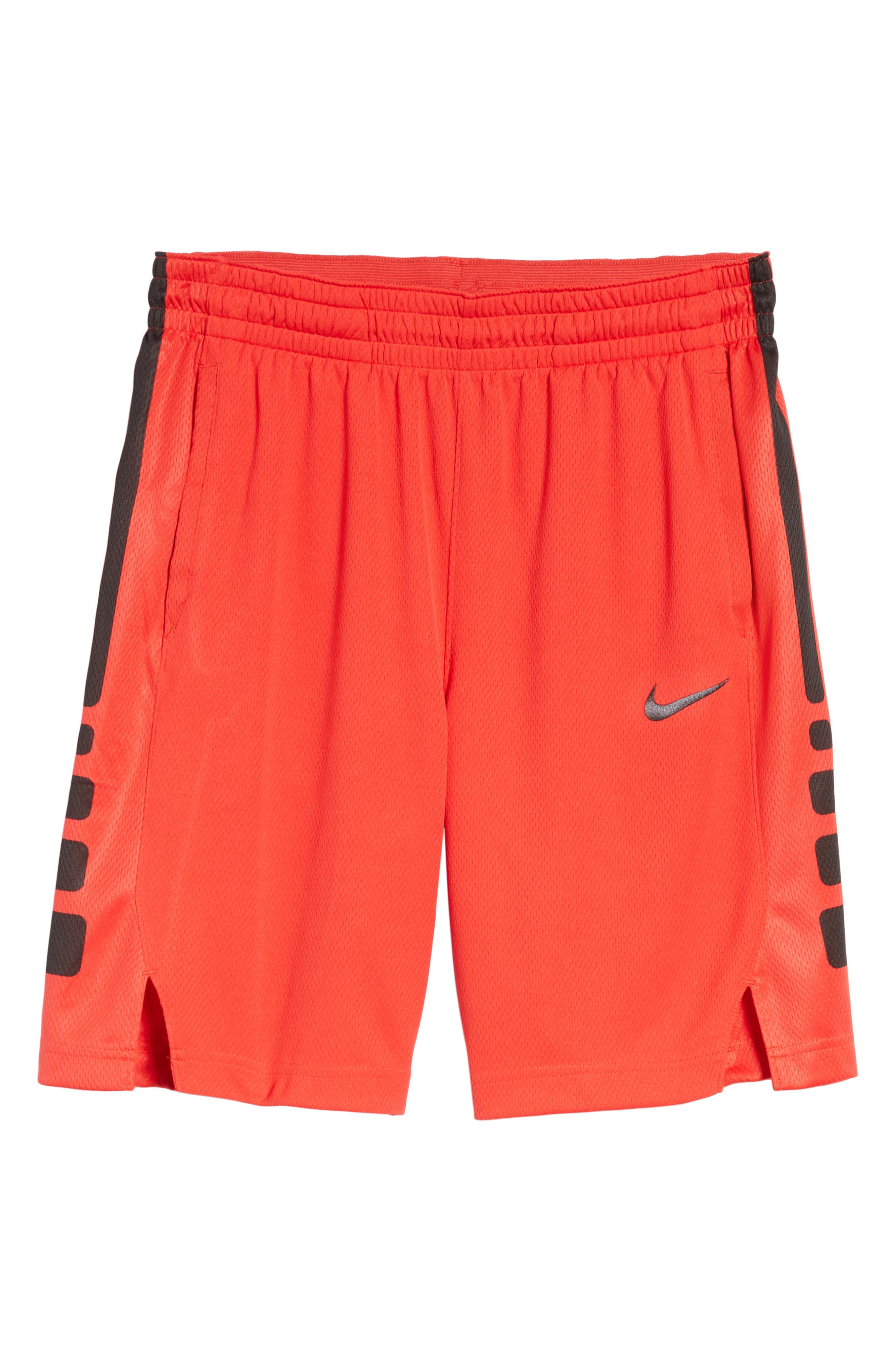 NIKE, Elite Stripe Basketball Shorts, Alternate thumbnail 7, color, 607