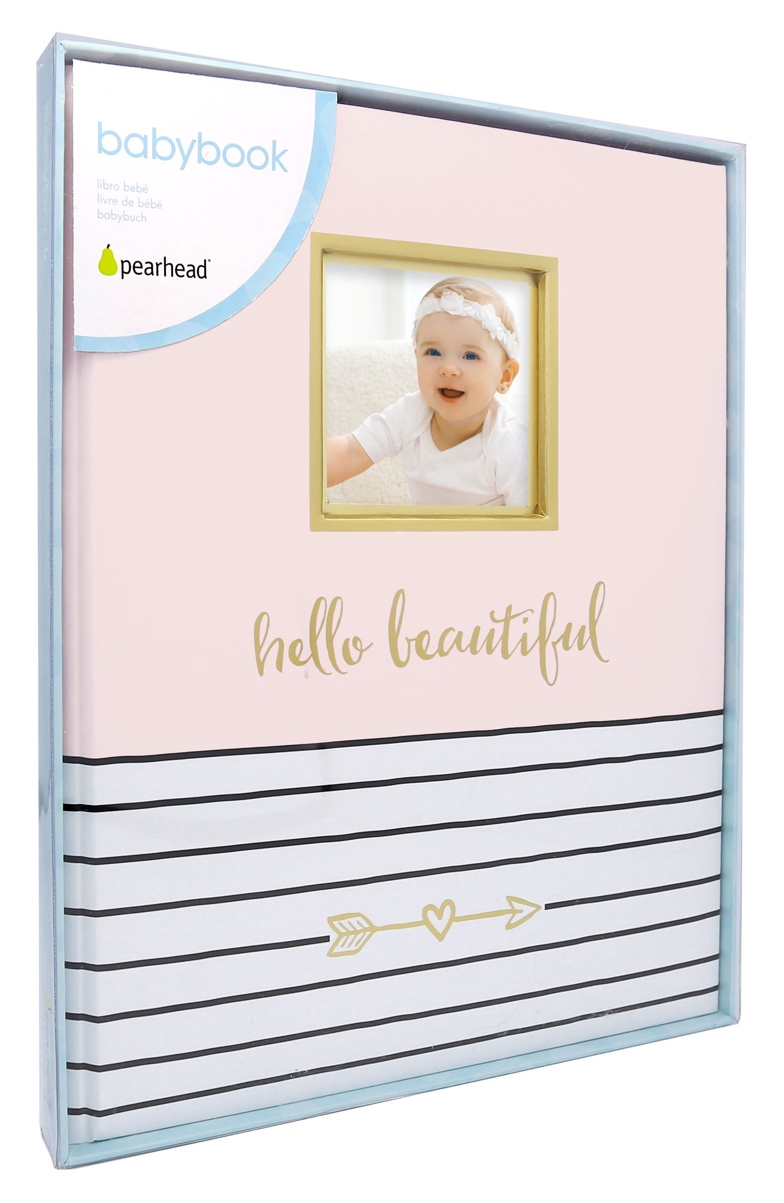 PEARHEAD, Hello Baby Book, Alternate thumbnail 3, color, PINK