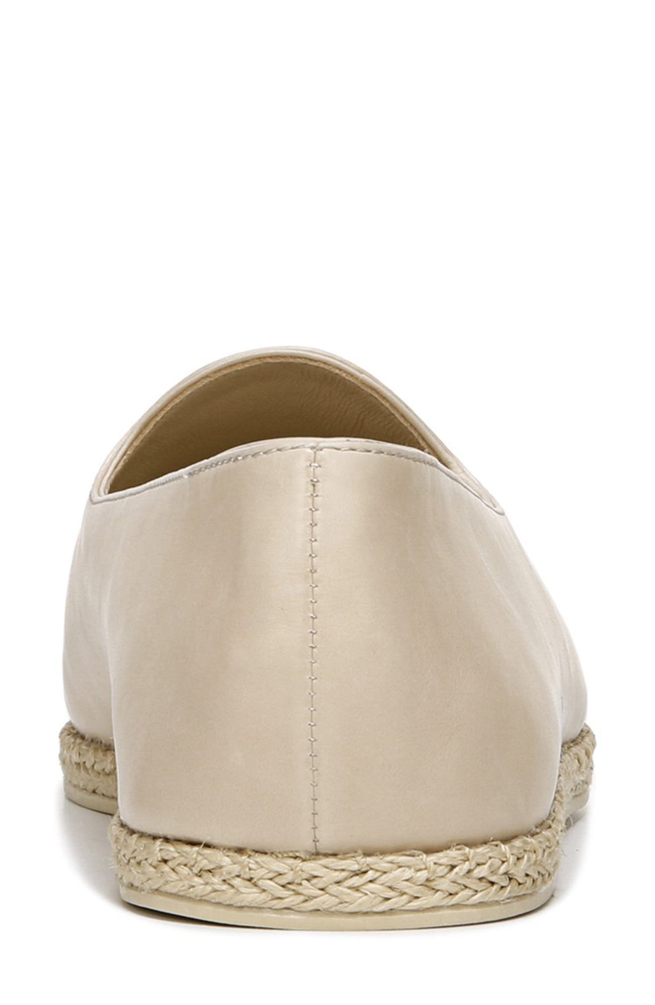 VINCE, Malia Loafer Flat, Alternate thumbnail 7, color, SAND EMBER LEATHER