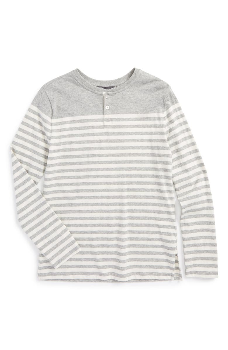 d98120de46 Vince Breton Stripe Pima Cotton Henley (Toddler Boys & Little Boys ...