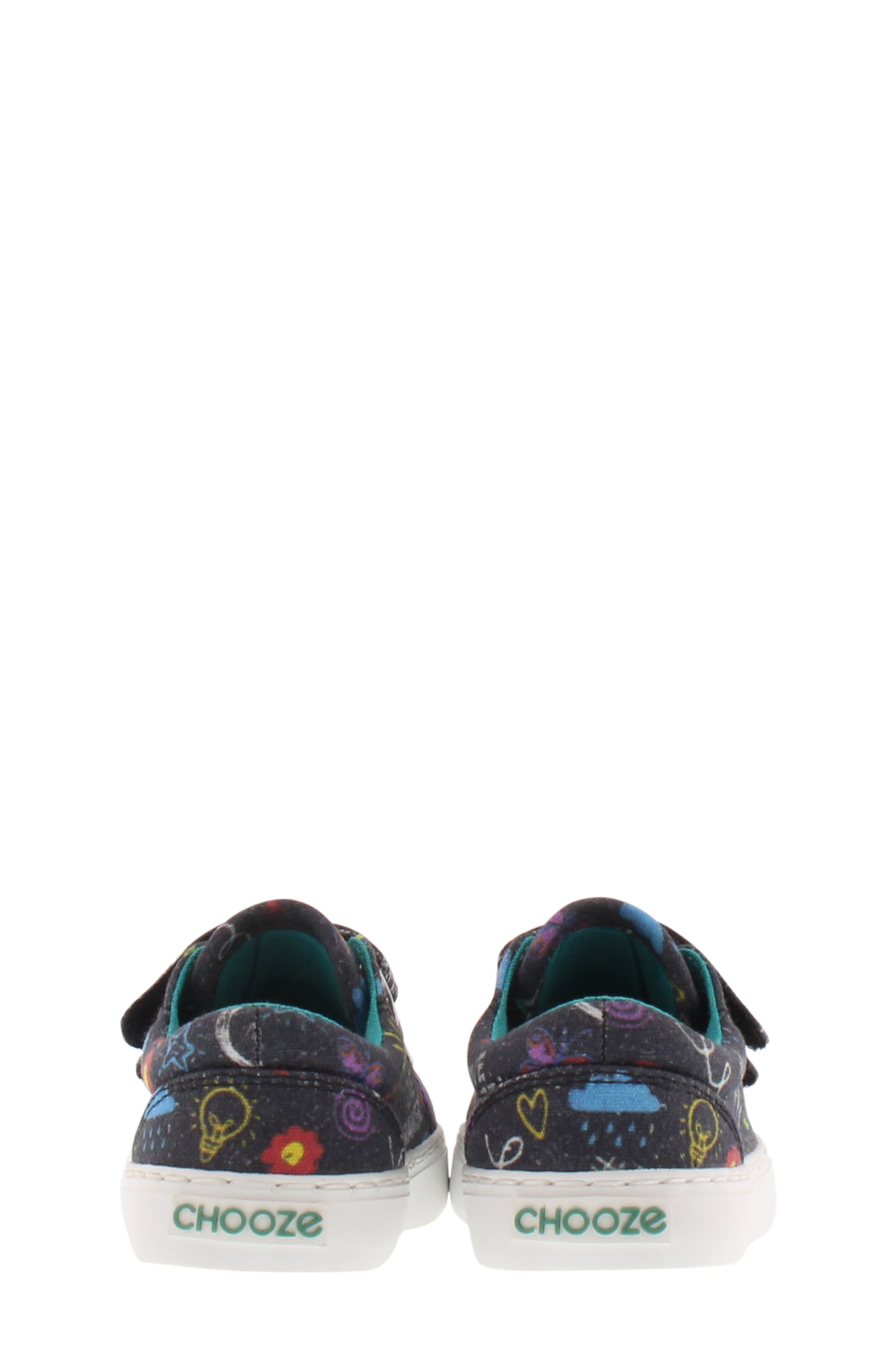 CHOOZE, Choose Move Bounce Sneaker, Alternate thumbnail 7, color, CHARCOAL