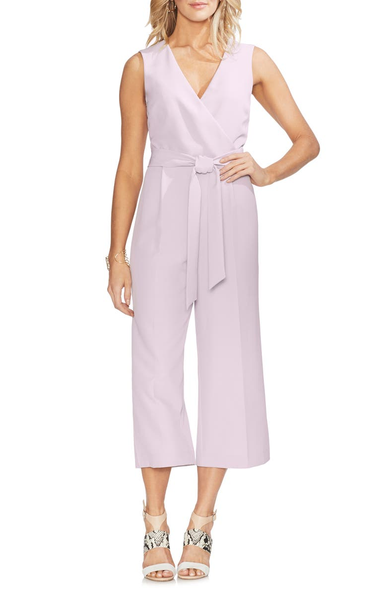 Vince Camuto Suits BELTED JUMPSUIT