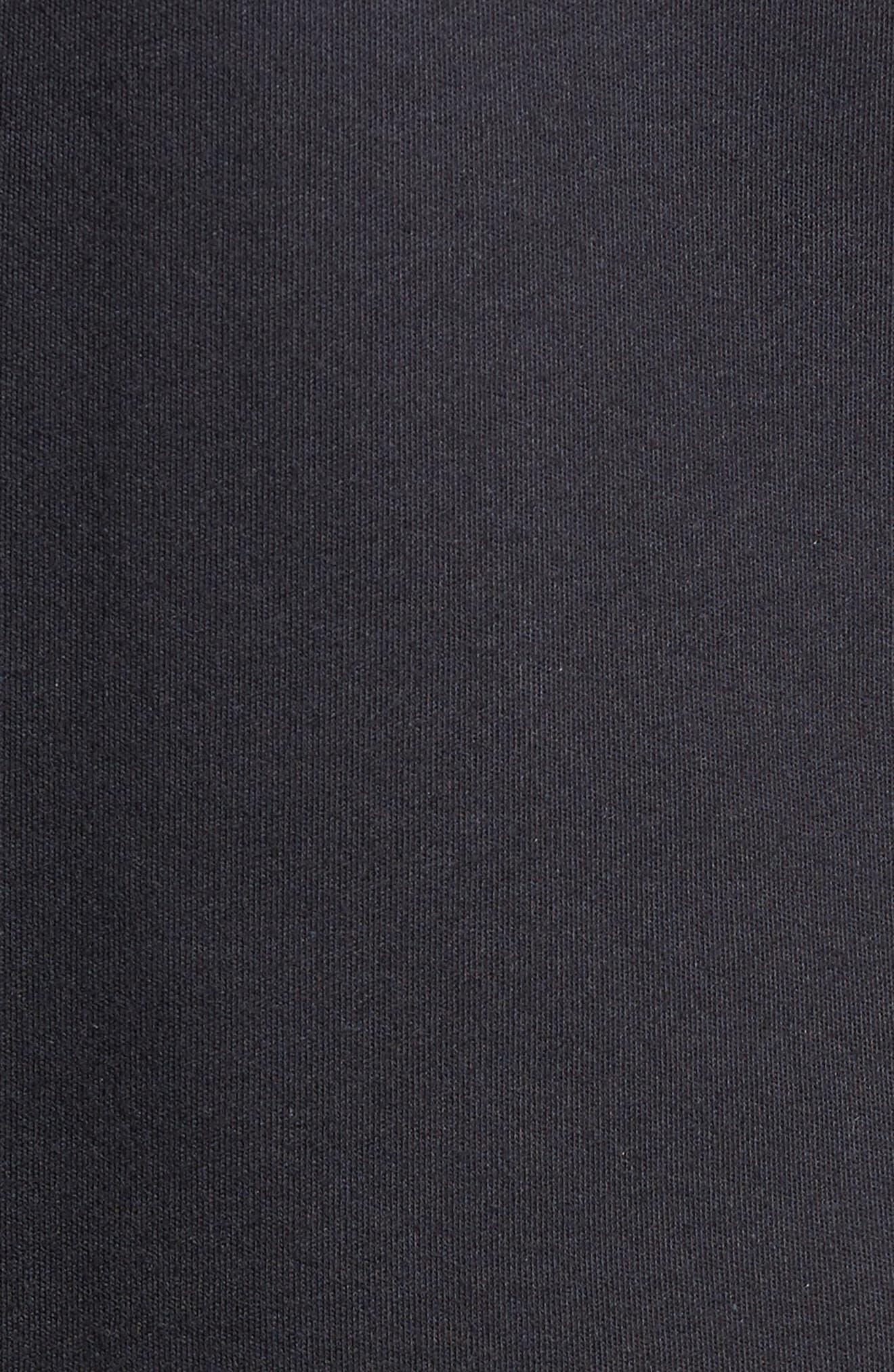 ZACHARY PRELL, Rampart Mixed Media Jacket, Alternate thumbnail 5, color, NAVY