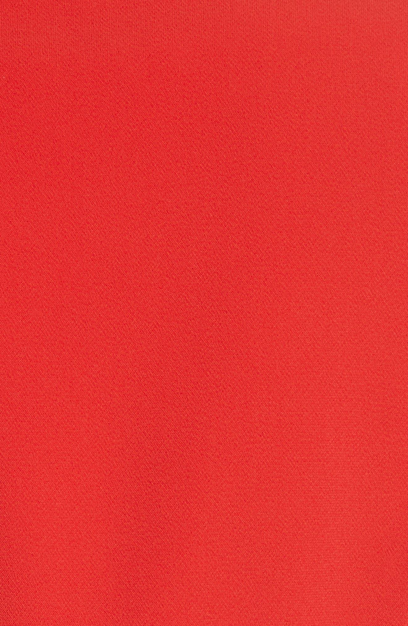 BRANDON MAXWELL, Notch Lapel Jacket, Alternate thumbnail 7, color, FUCHSIA