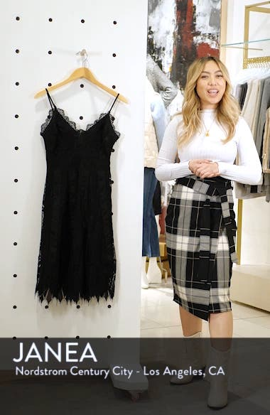 Calla Geometric Lace Dress, sales video thumbnail