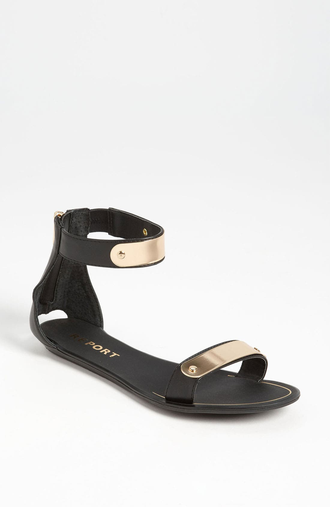 REPORT SIGNATURE, REPORT Metal Bar Sandal, Main thumbnail 1, color, 001