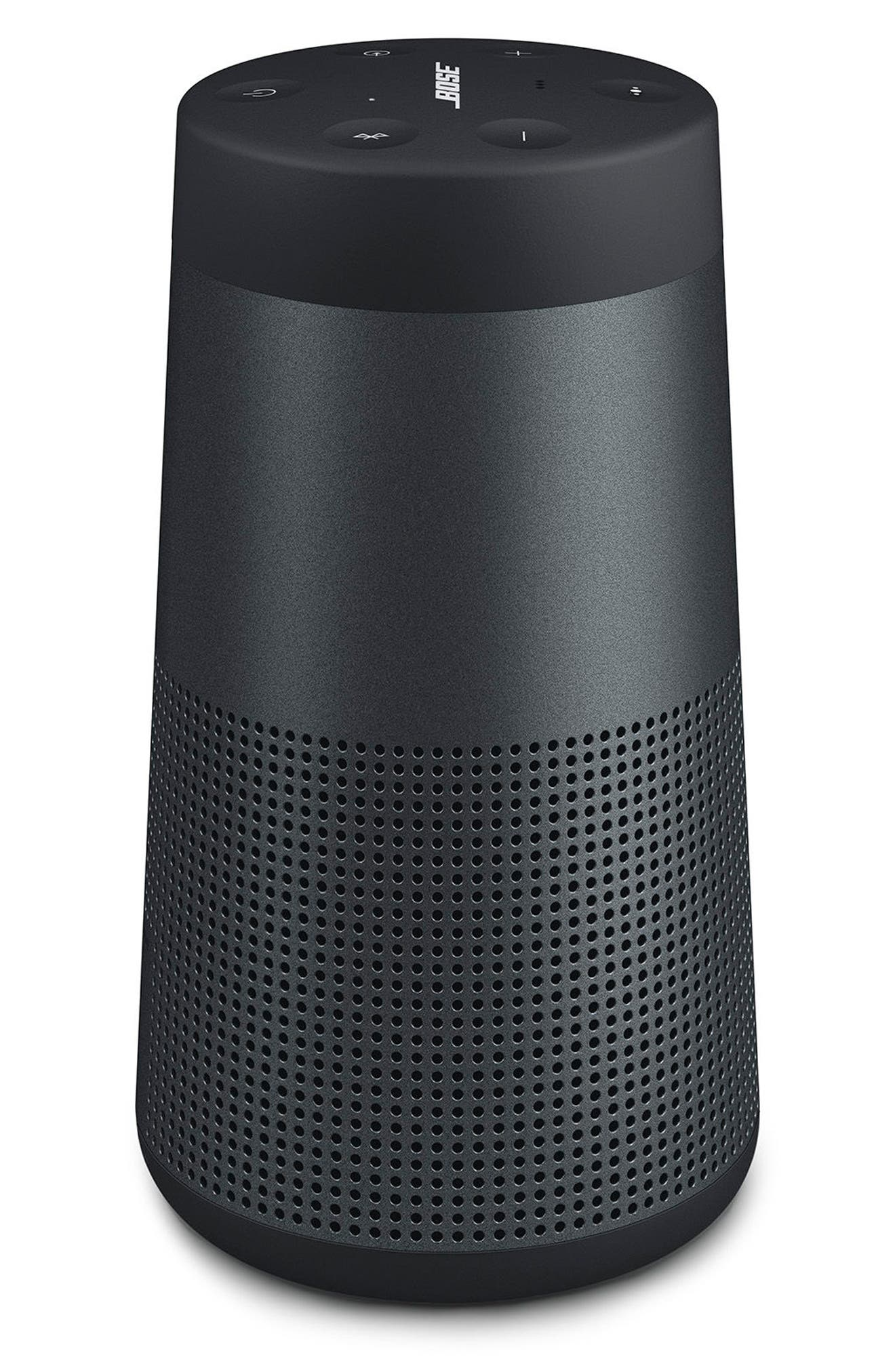 BOSE<SUP>®</SUP>, SoundLink<sup>®</sup> Revolve Bluetooth<sup>®</sup> Speaker, Alternate thumbnail 6, color, BLACK