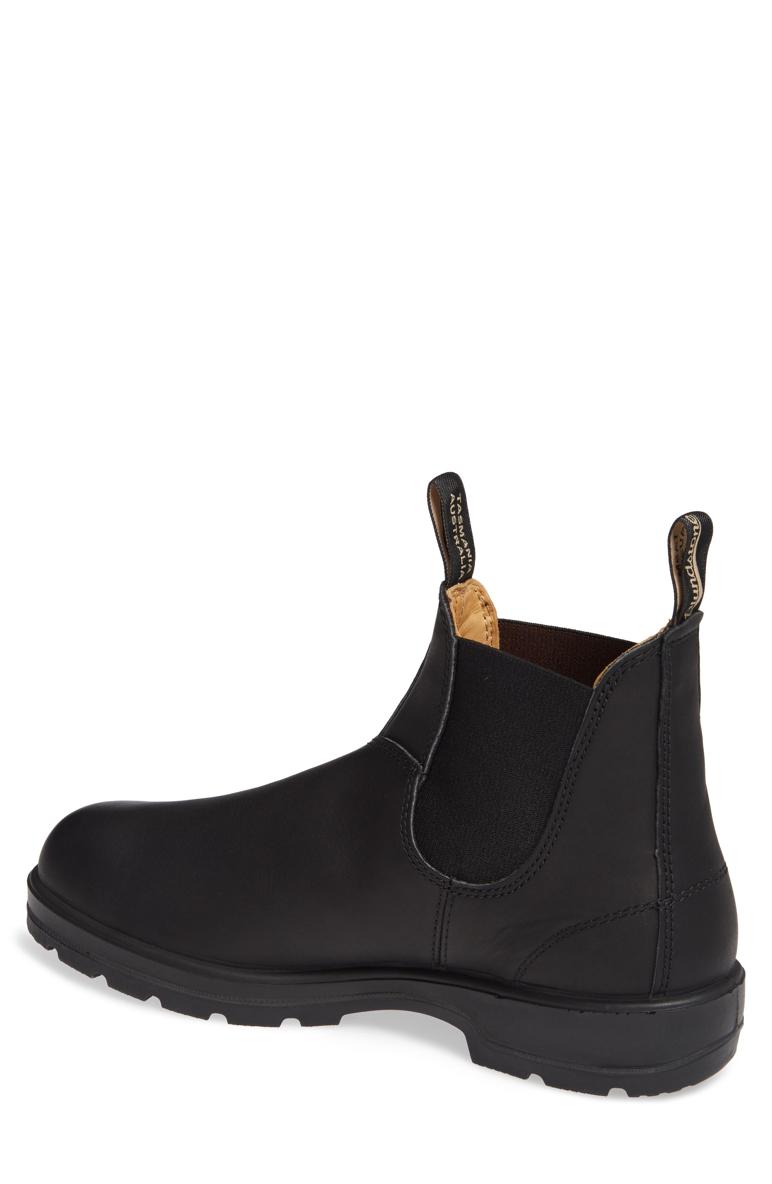 BLUNDSTONE FOOTWEAR, Chelsea Boot, Alternate thumbnail 2, color, BLACK
