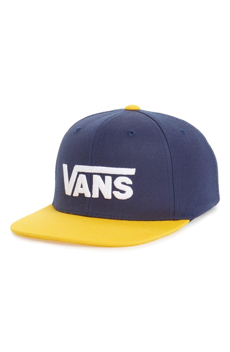 43ddd24b Vans Drop V II Snapback Cap (Boys) | Nordstrom