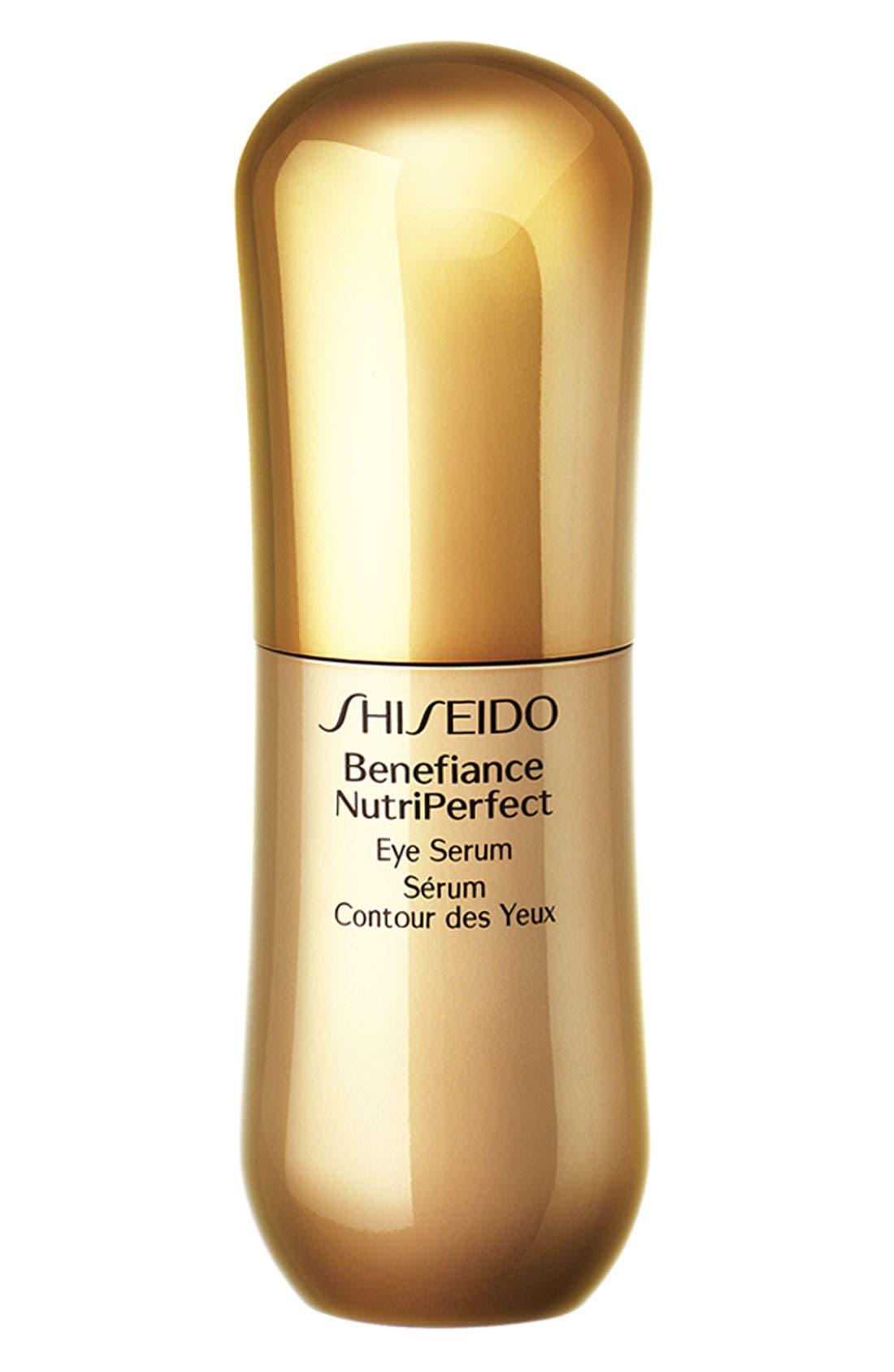 SHISEIDO, Benefiance NutriPerfect Eye Serum, Main thumbnail 1, color, NO COLOR
