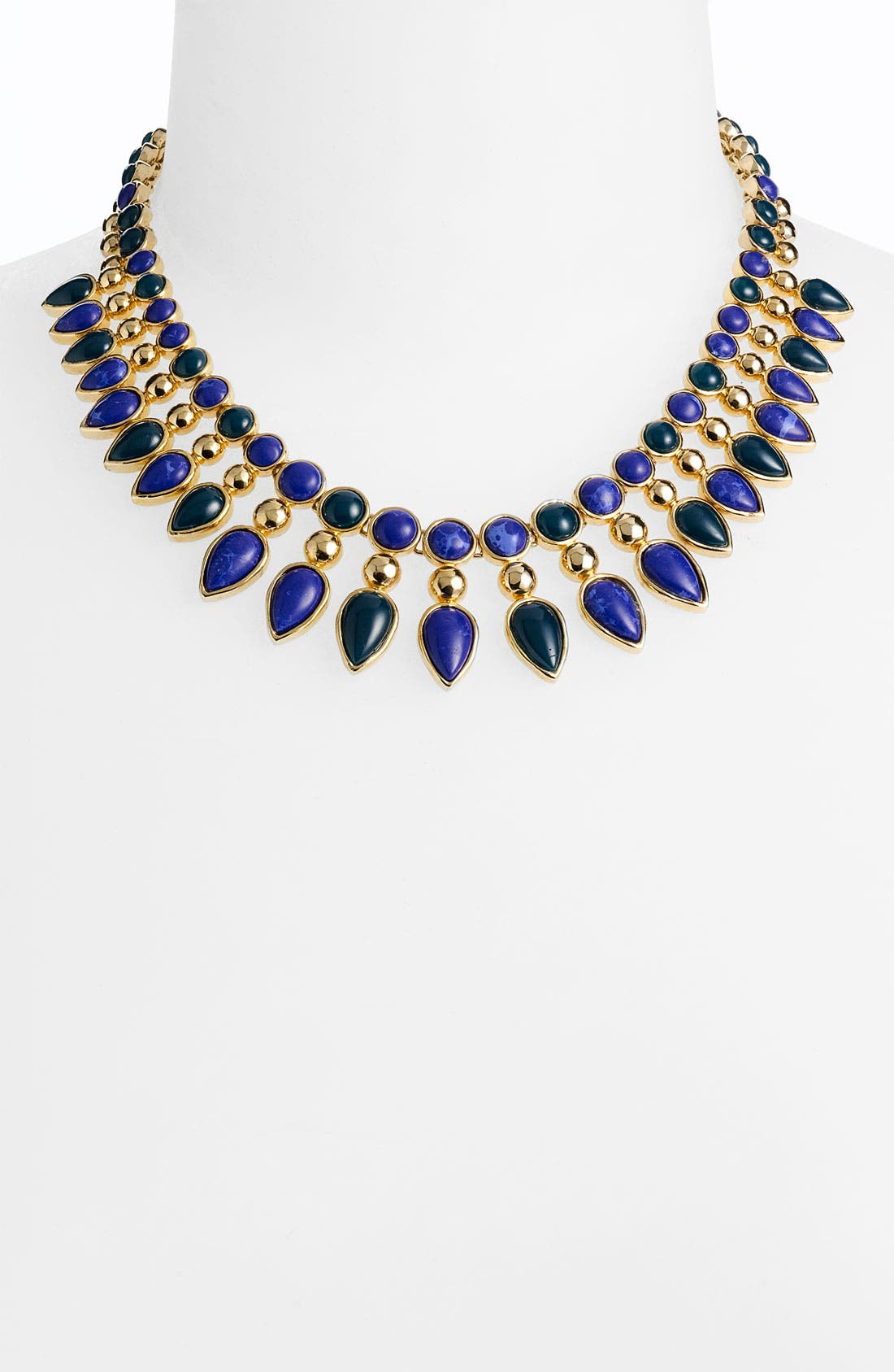 NORDSTROM, 'Lapis of Luxury - Cleopatra' Necklace, Main thumbnail 1, color, 400