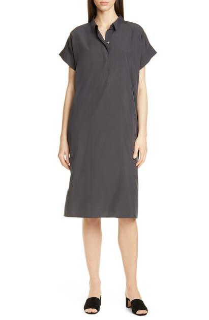 Eileen Fisher Dresses QUARTER PLACKET SHIRTDRESS