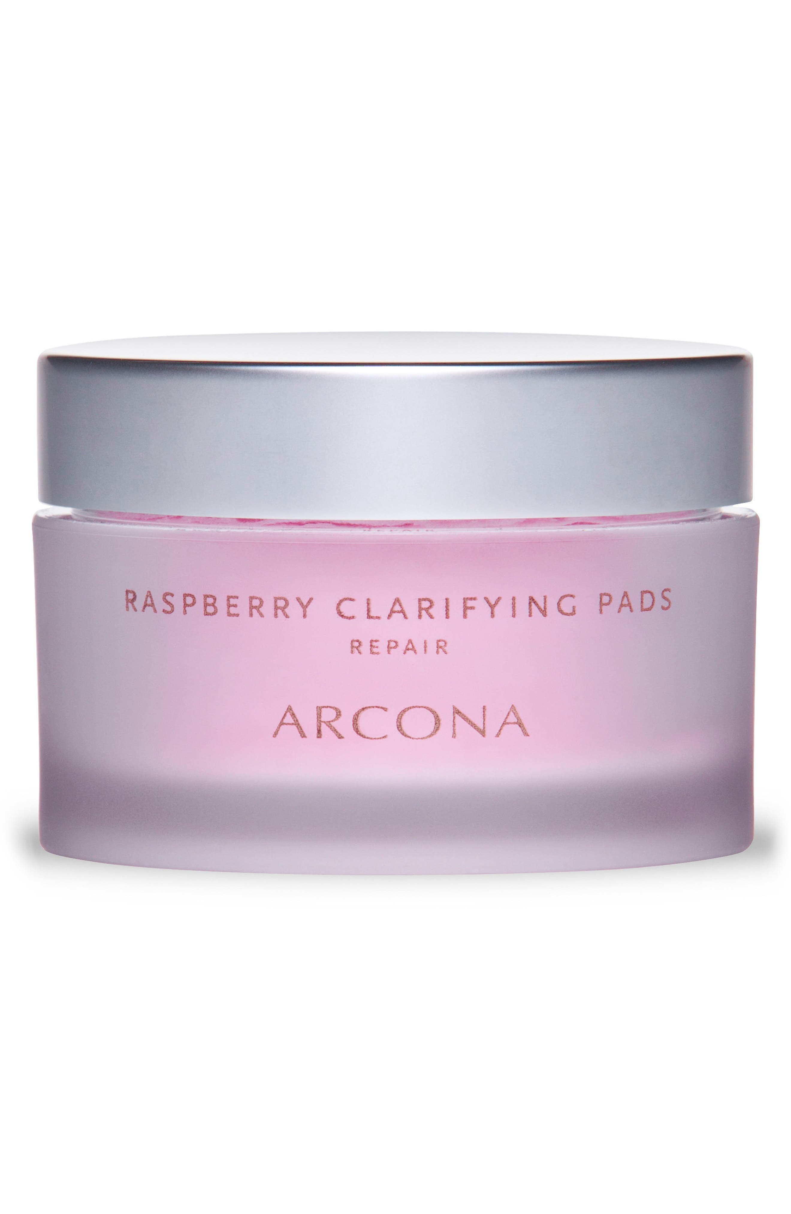 ARCONA, Raspberry Clarifying Pads, Main thumbnail 1, color, NO COLOR