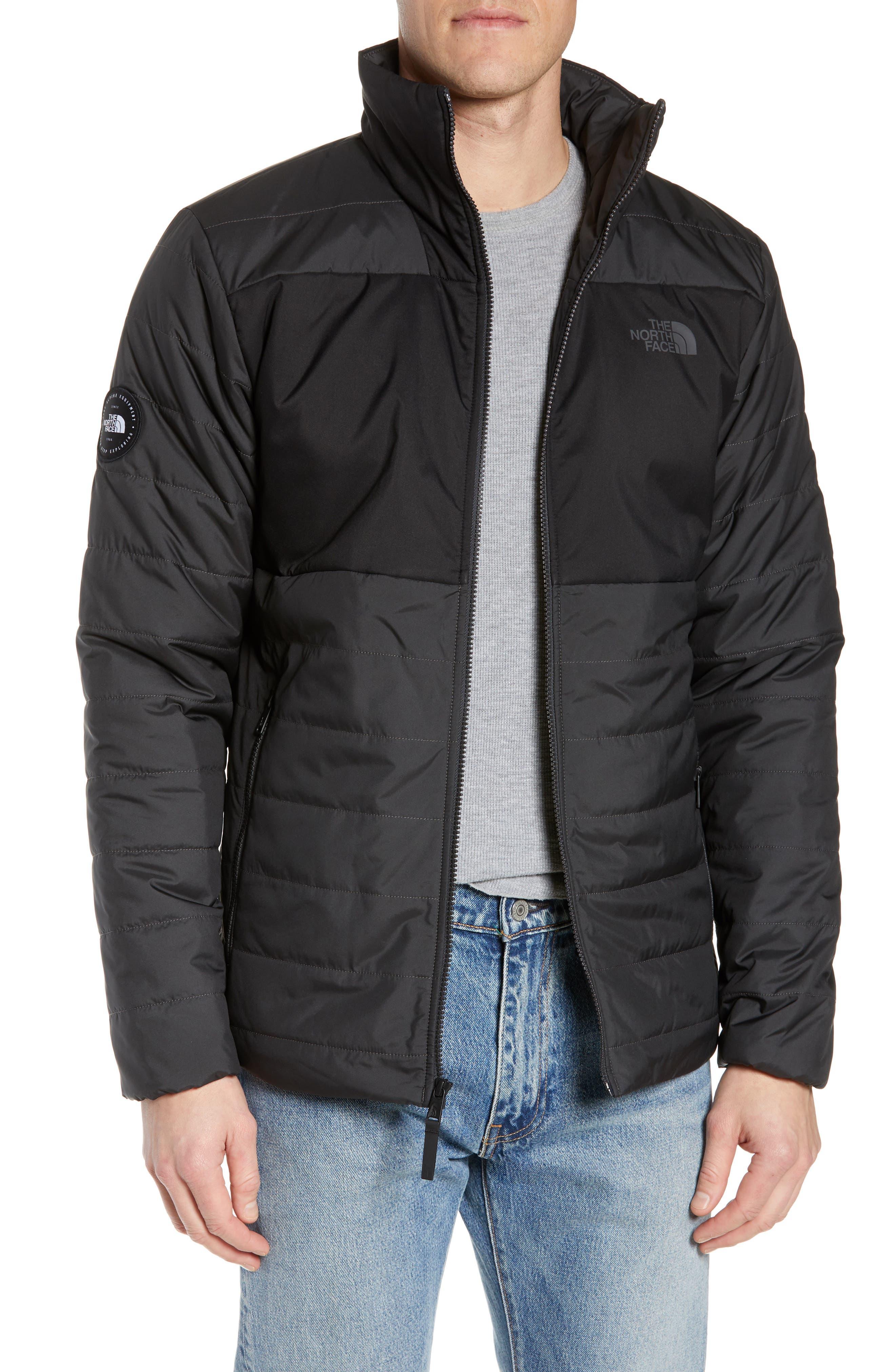THE NORTH FACE, Insulated Jacket, Main thumbnail 1, color, TNF BLACK/ ASPHALT GREY