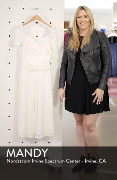 Lunching Lady Crop Jumpsuit, sales video thumbnail