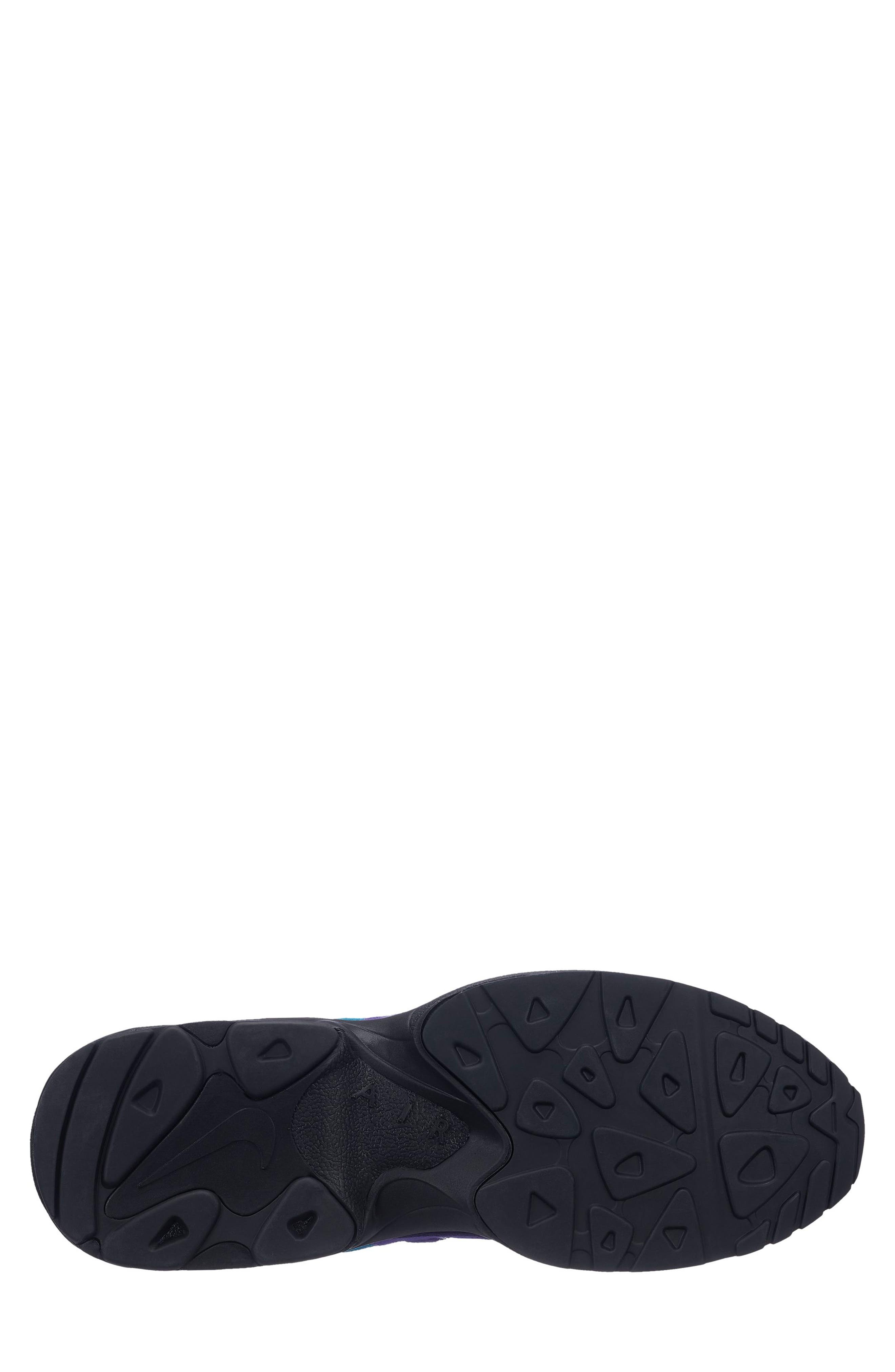 NIKE, Air Max2 Light Sneaker, Alternate thumbnail 5, color, PURPLE/ TEAL/ BLACK/ WHITE