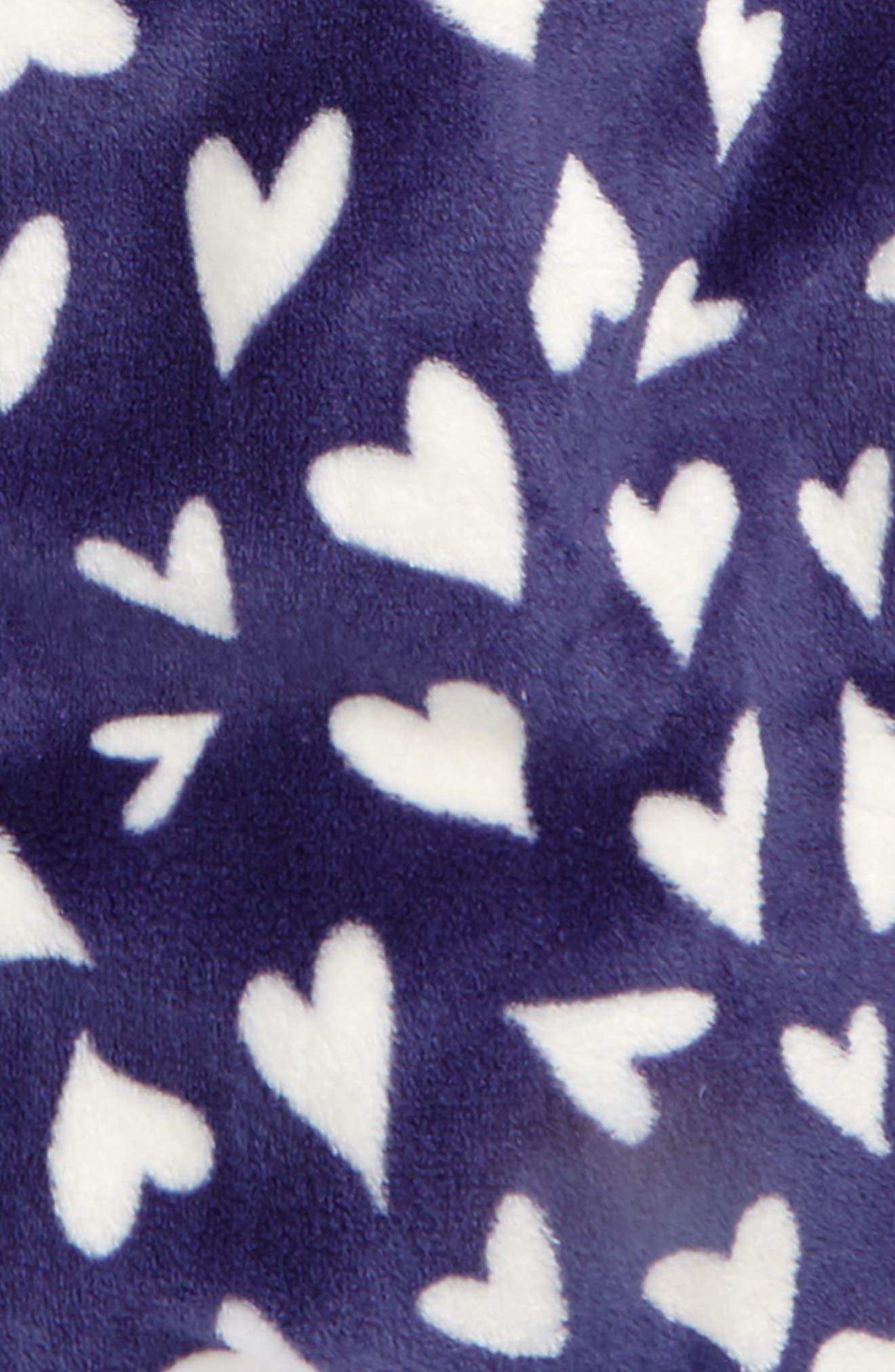 TUCKER + TATE, Hooded Fleece Robe, Alternate thumbnail 2, color, 410