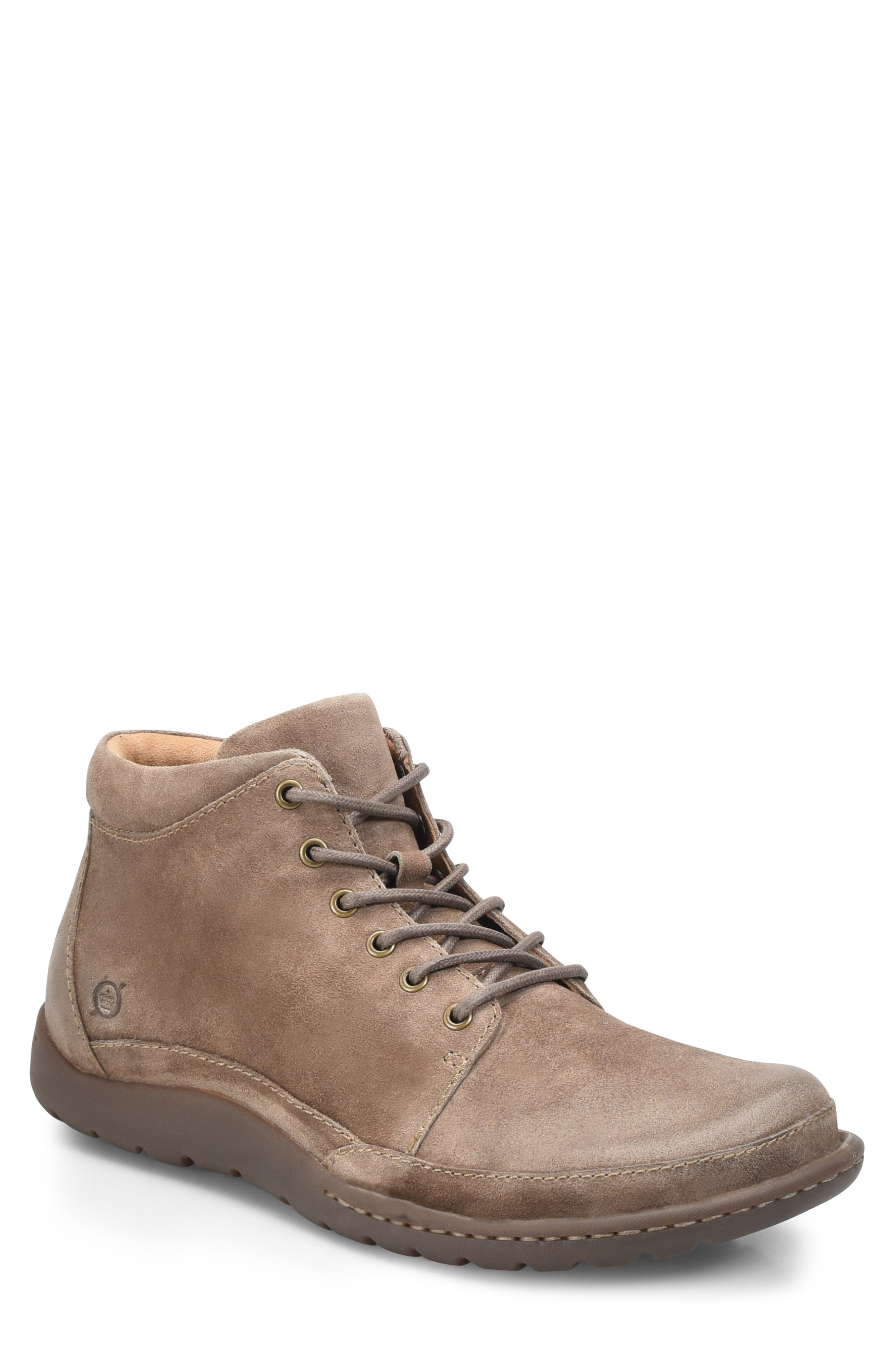 BØRN, Nigel Low Boot, Main thumbnail 1, color, TAUPE LEATHER