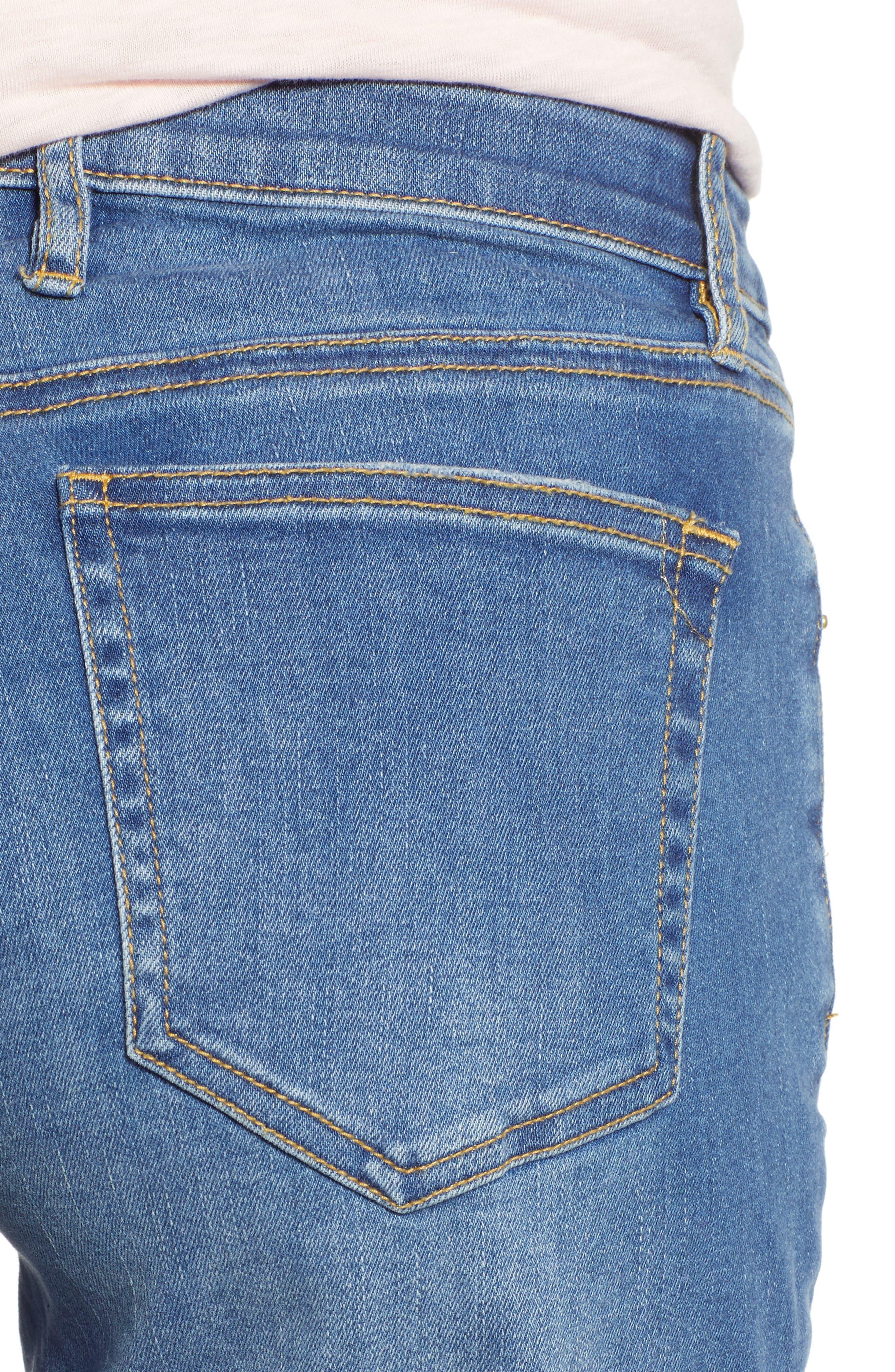 TOMMY BAHAMA, Tema Slim Boyfriend Jeans, Alternate thumbnail 5, color, DARK INDIGO WASH