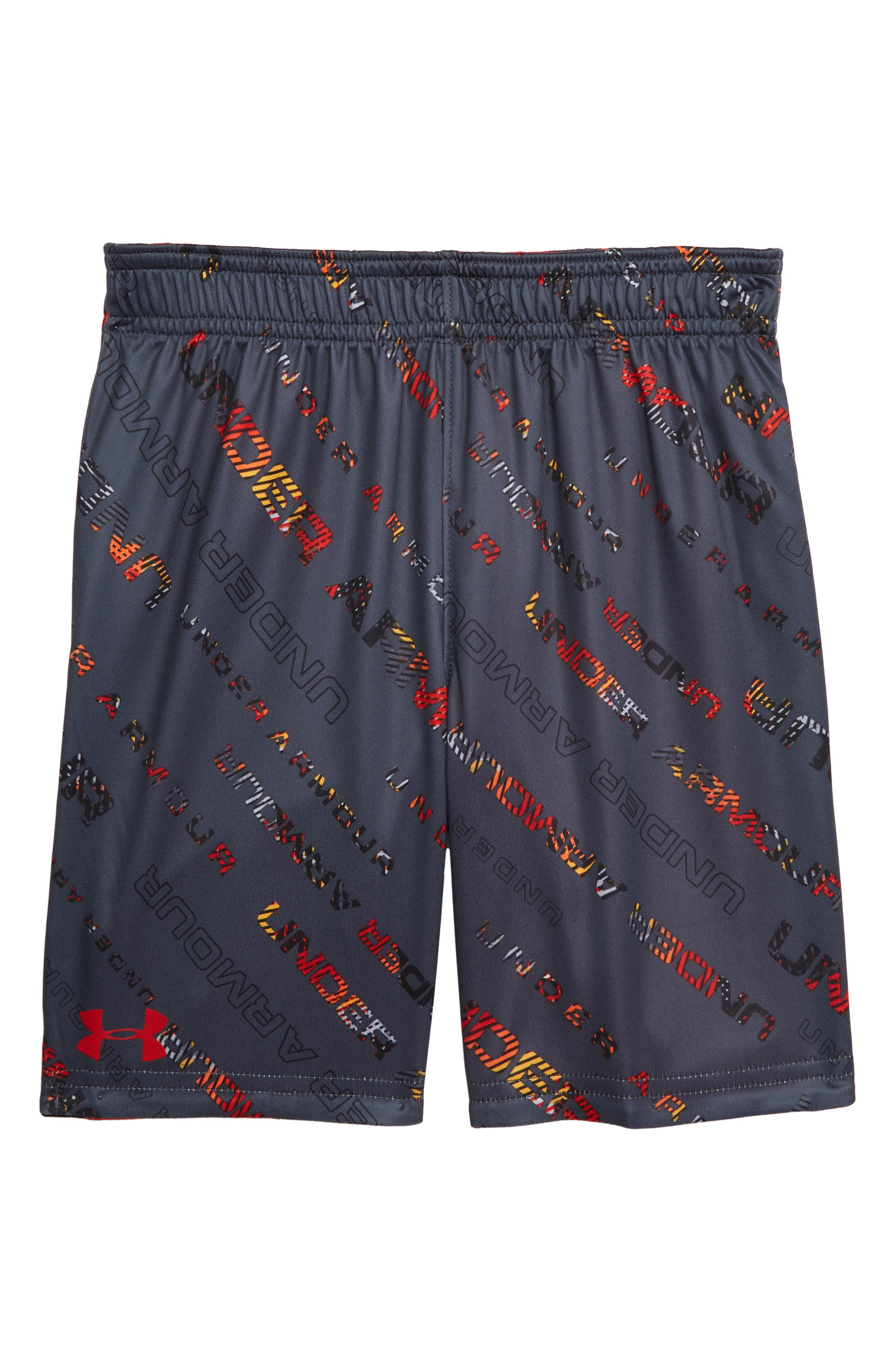 UNDER ARMOUR, Lined Up HeatGear<sup>®</sup> Reversible Shorts, Main thumbnail 1, color, PITCH GRAY