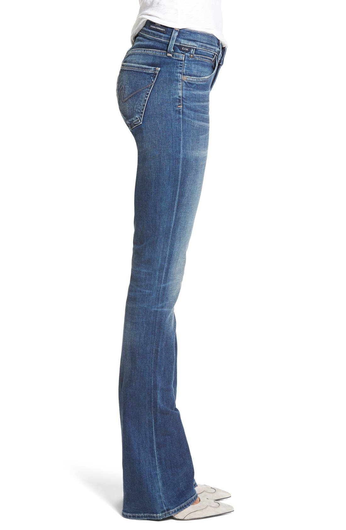 CITIZENS OF HUMANITY, 'Emannuelle' Slim BootcutJeans, Alternate thumbnail 7, color, MODERN LOVE