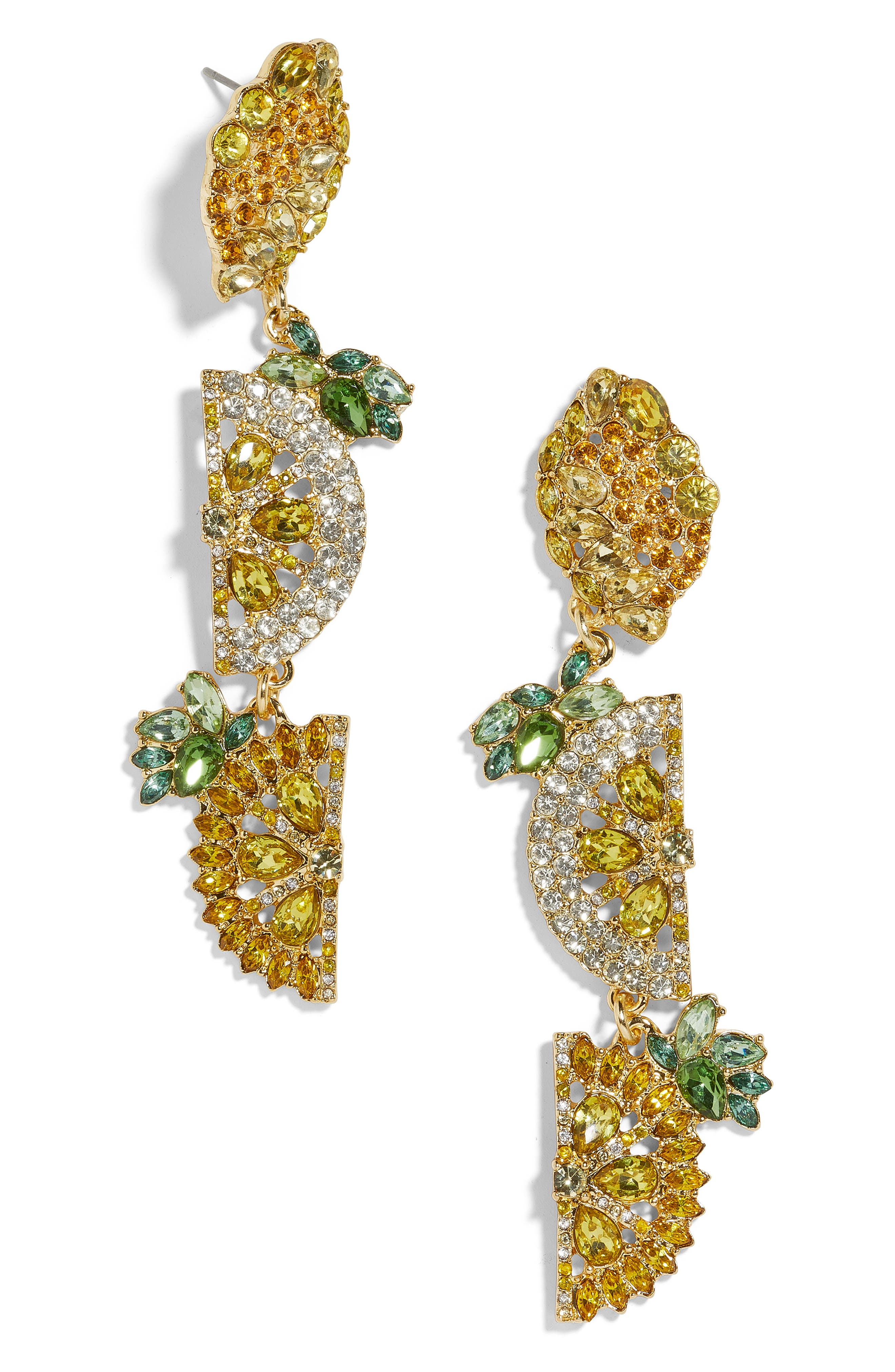 BAUBLEBAR, Lemon Drop Earrings, Main thumbnail 1, color, YELLOW