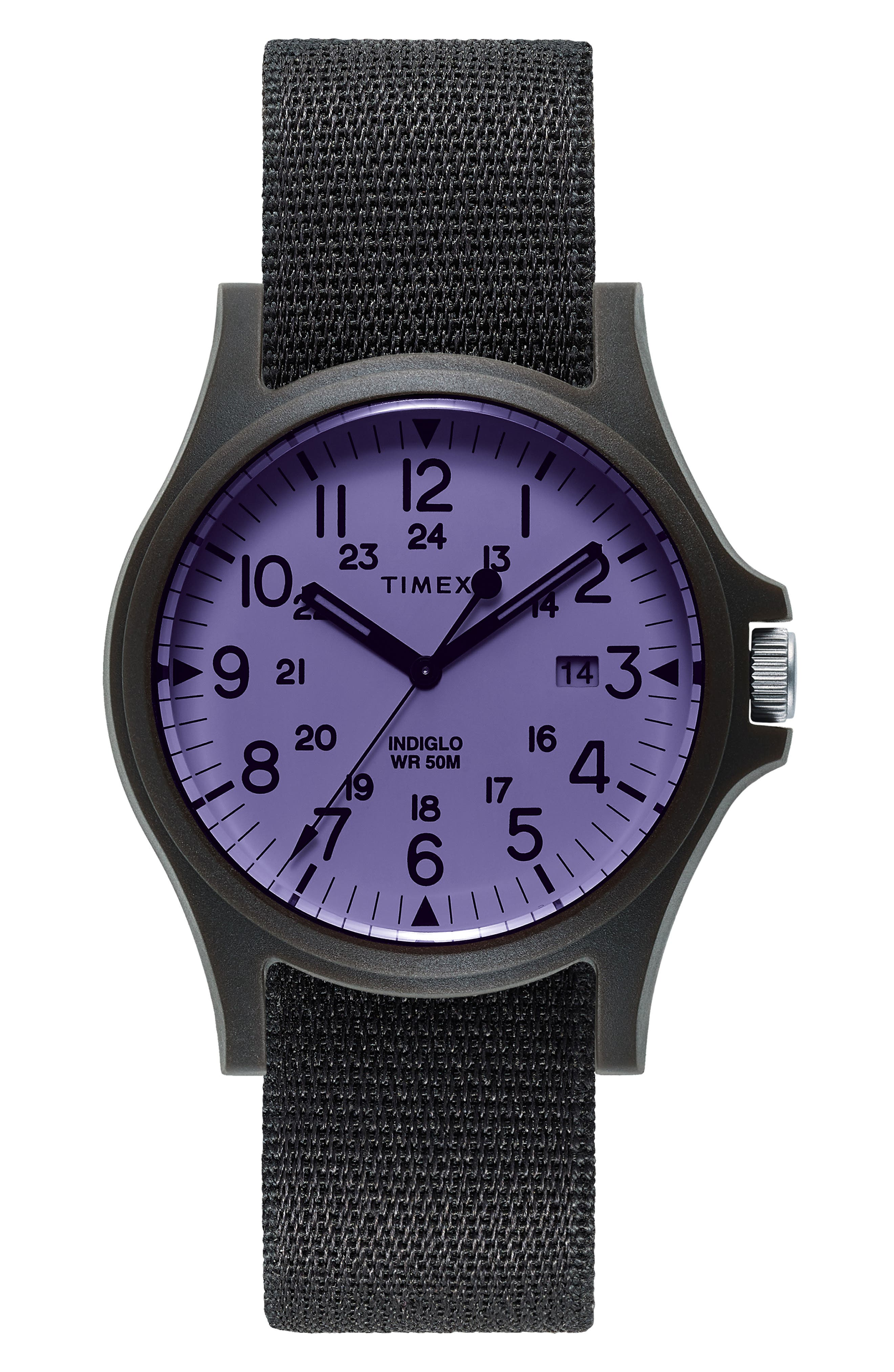 TIMEX<SUP>®</SUP> ARCHIVE Acadia NATO Strap Watch, 40mm, Main, color, 001